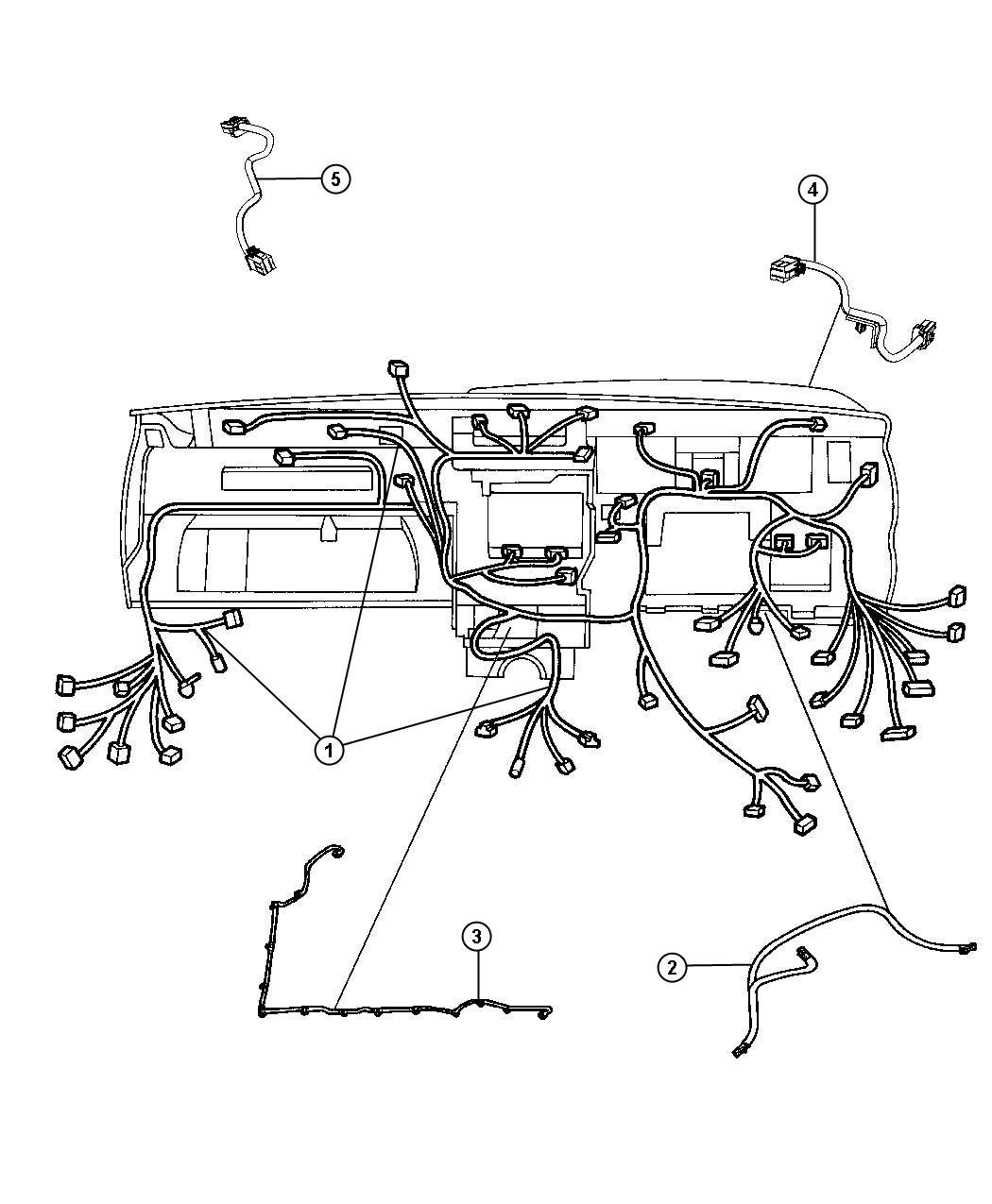 Jeep Grand Cherokee Wiring Instrument Panel Redbrear