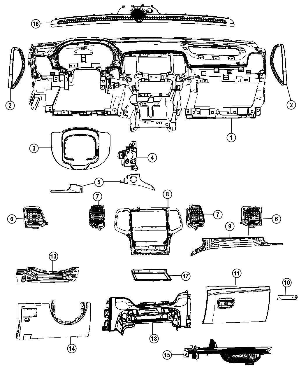 Dodge Durango Mat Storage Tray Citadel X5 X9