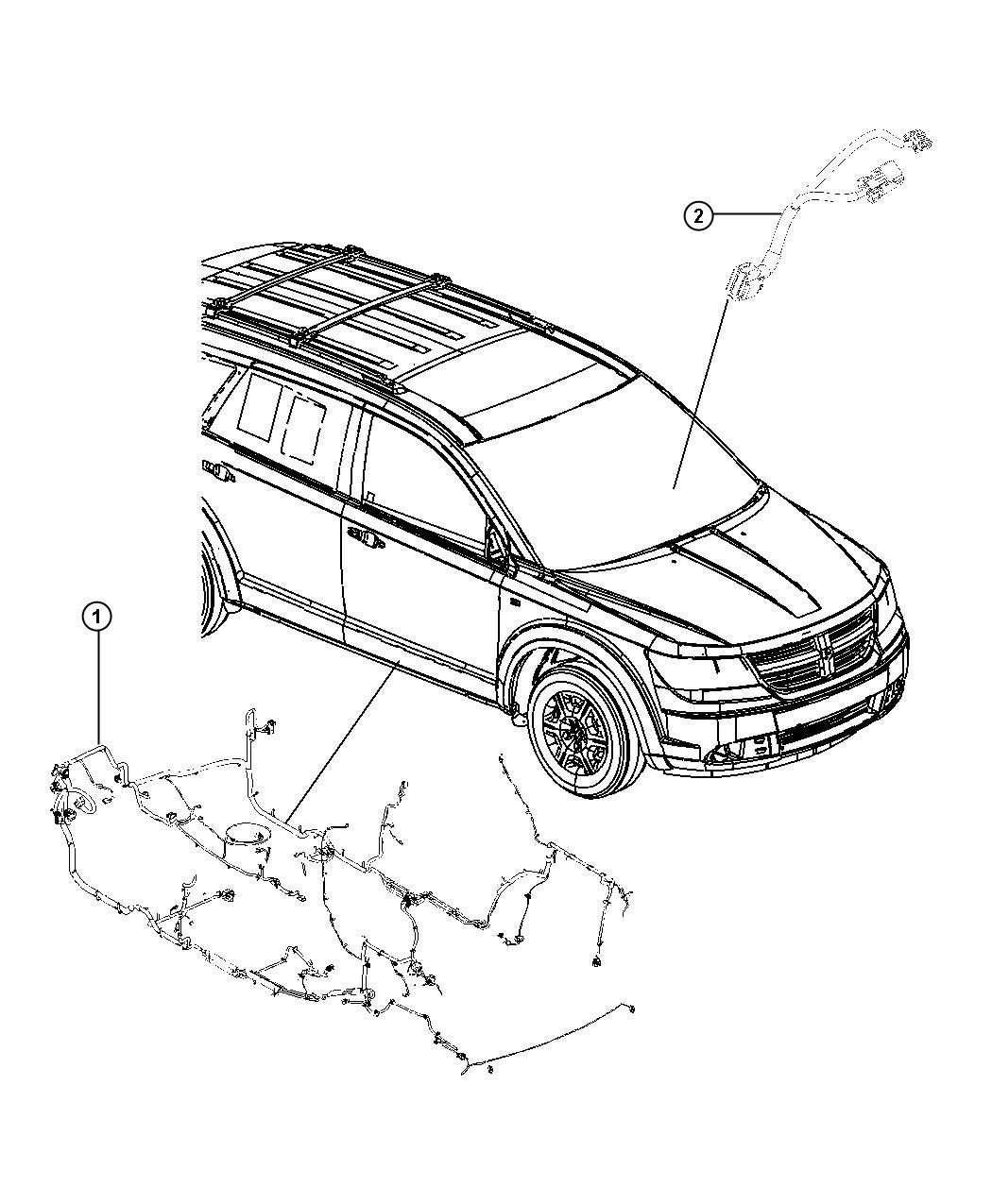 Dodge Journey Wiring Unified Body Rc9 Xaa Xac Jkv