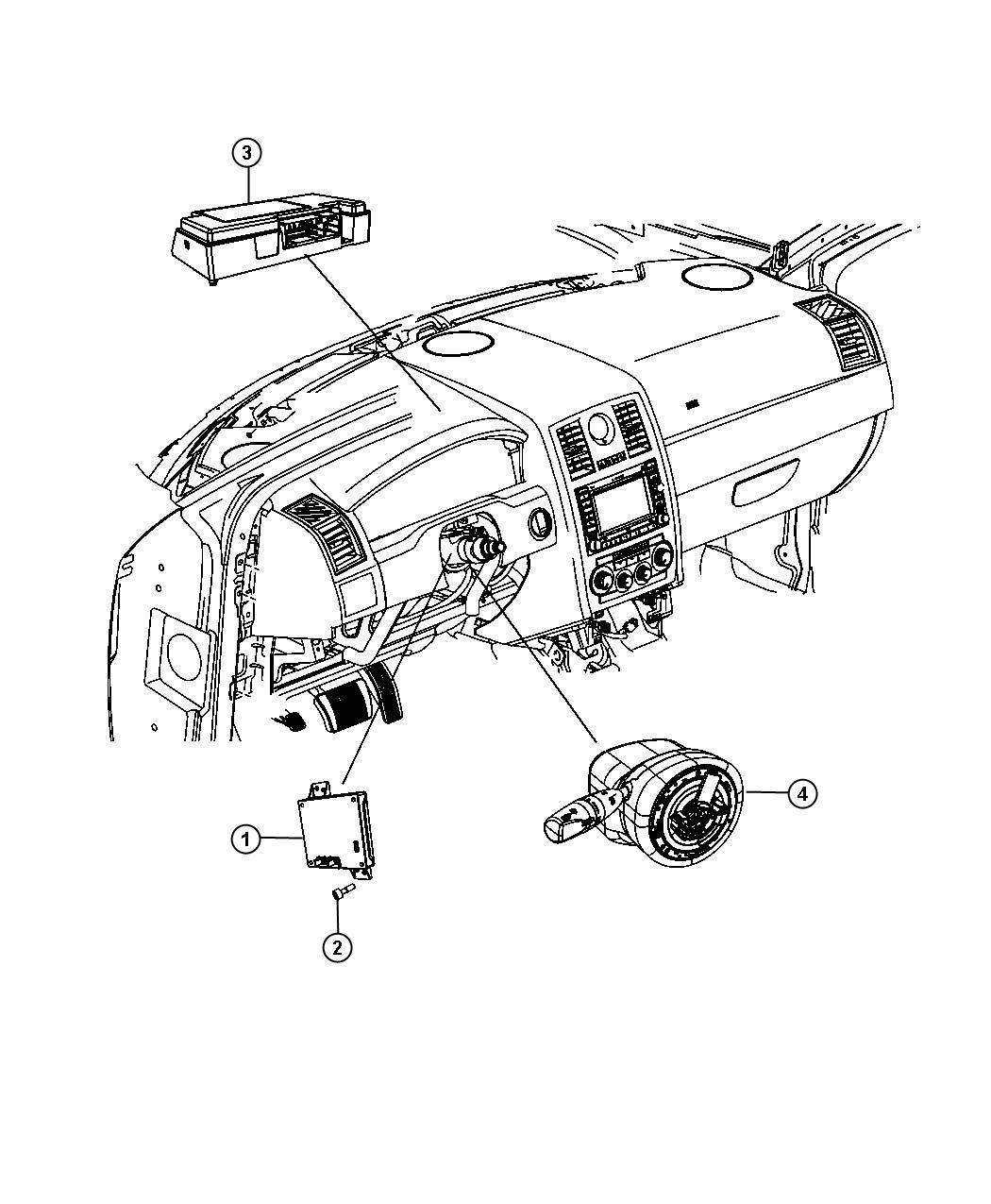 Jeep Compass Module Export Telematics Nav Radios Uconnect