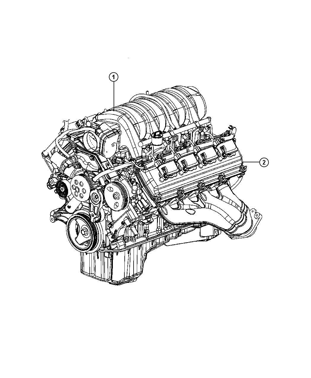 Dodge Challenger Engine Long Block Service