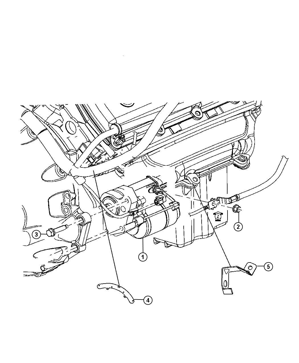 Chrysler 300 Bracket Wiring Rwd Starter Wiring Starter
