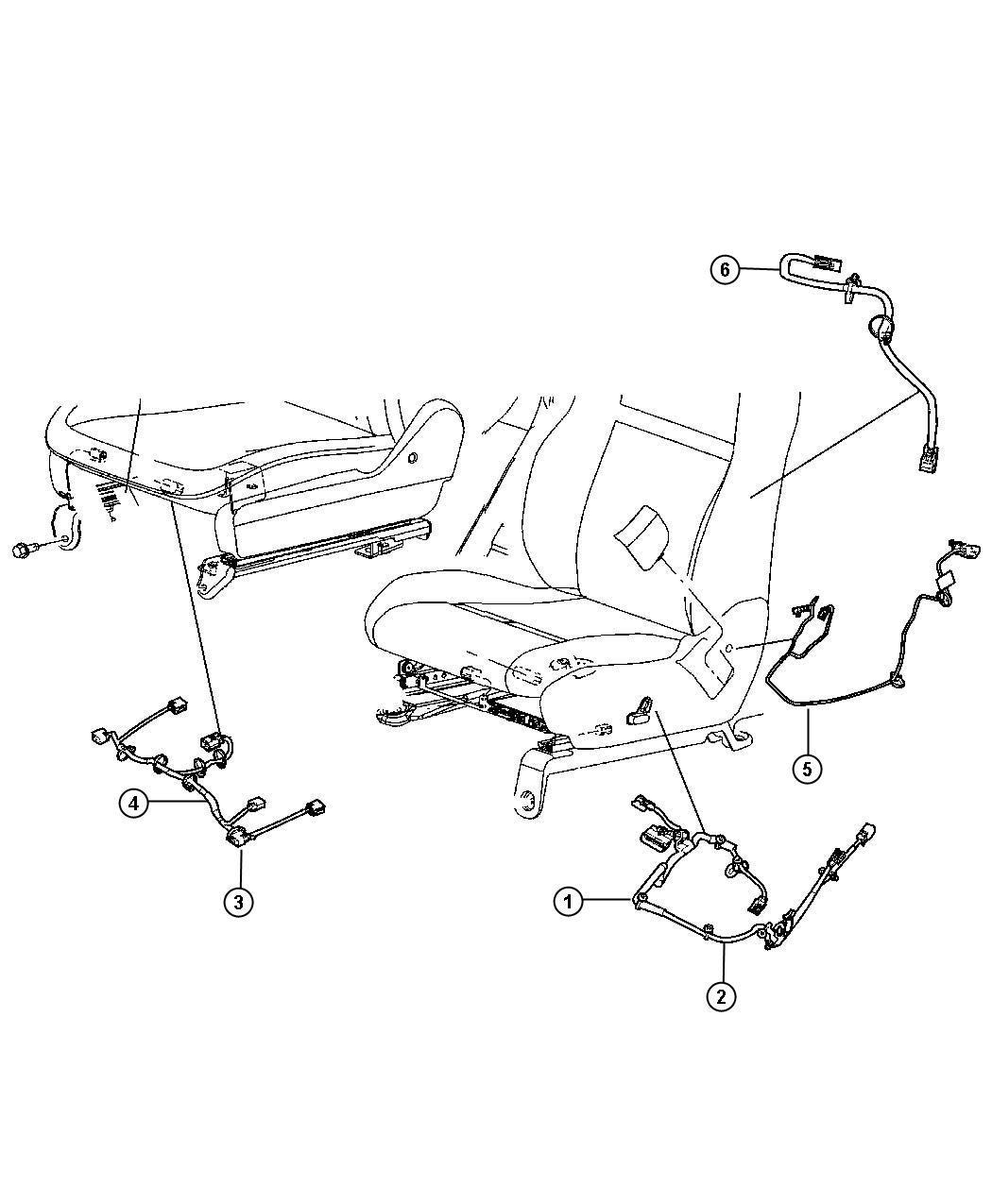 Chrysler Town Amp Country Wiring Power Seat 8 Way