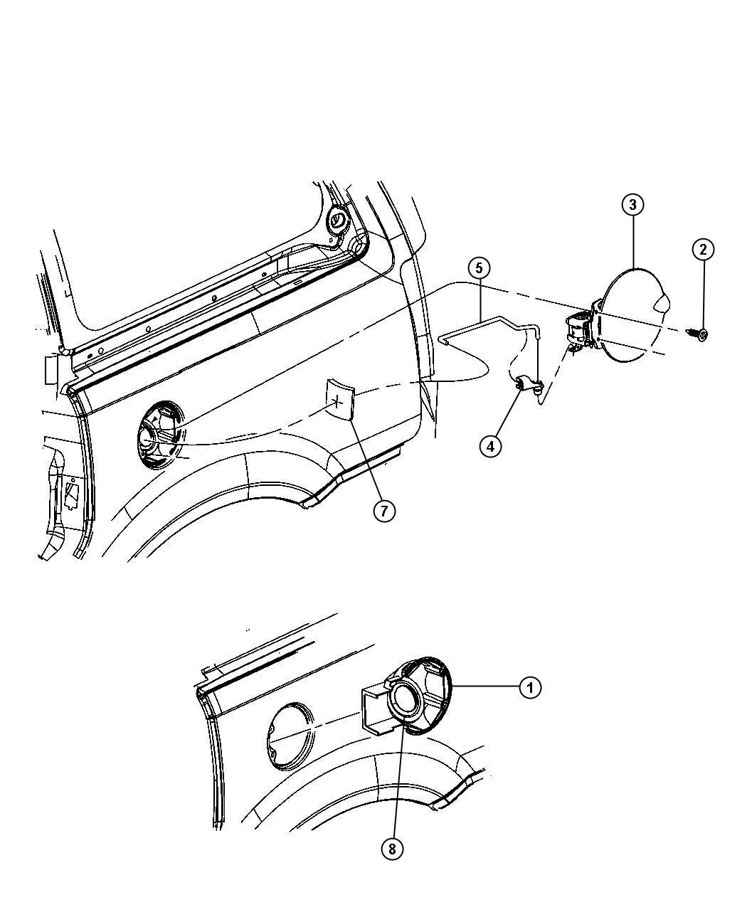Dodge Sprinter Clip Outside Door Handle