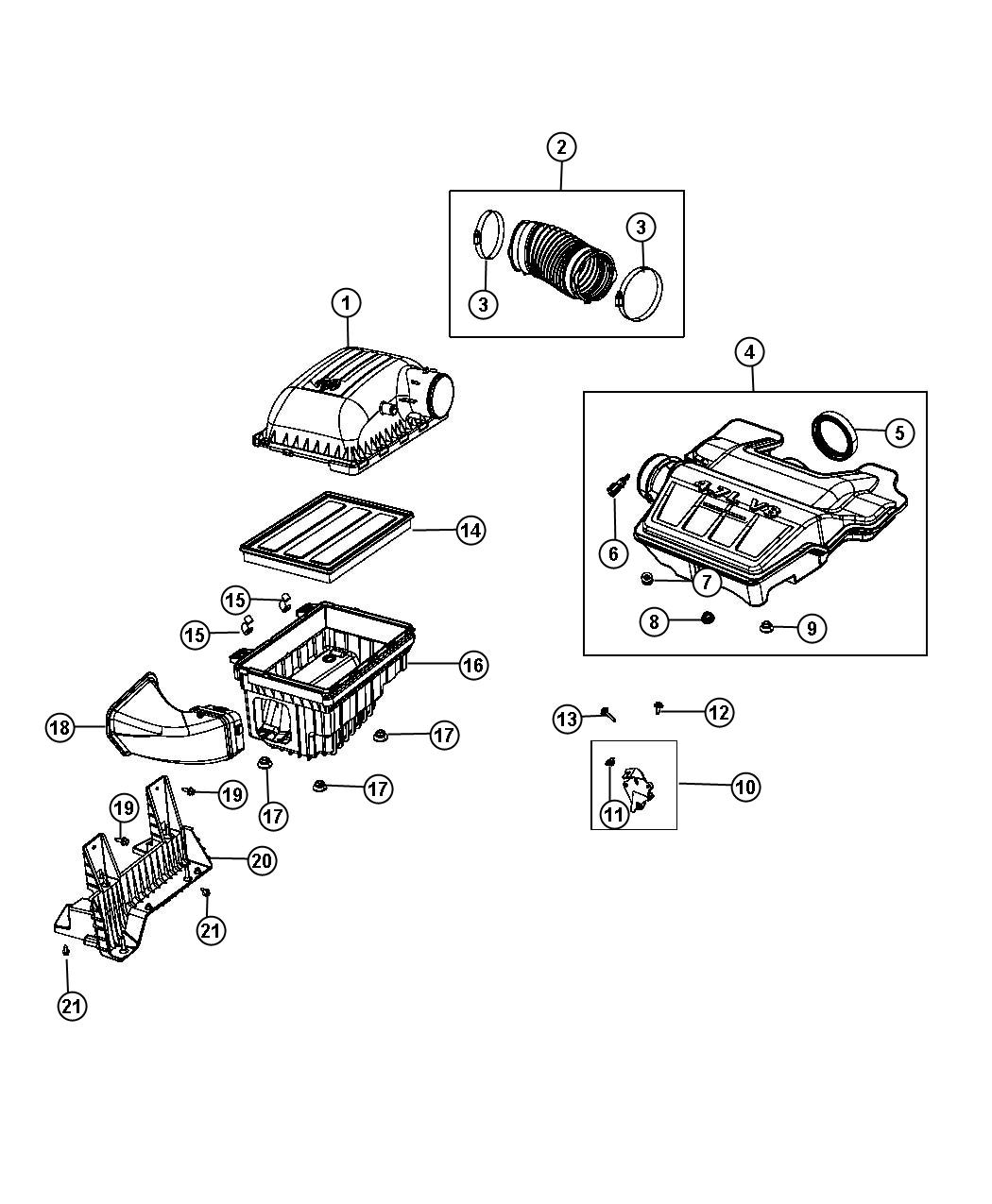 Chrysler Town Amp Country Nut Mounting Induction