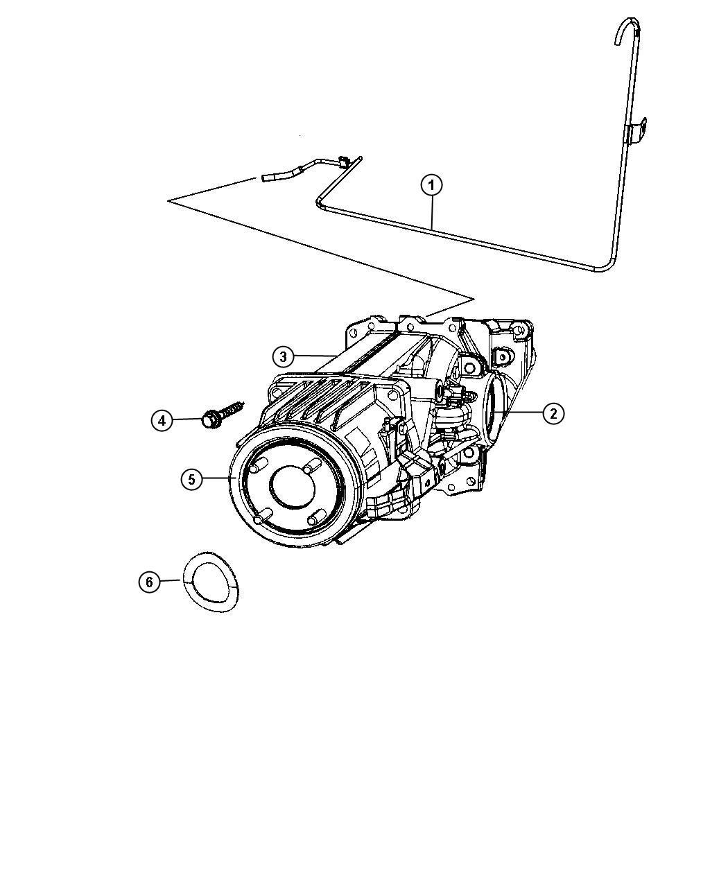 Jeep Compass Seal Input Shaft Output Shaft Rear