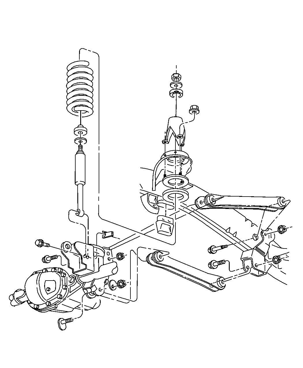 Dodge Ram Shock Absorber Kit Shock Absorber