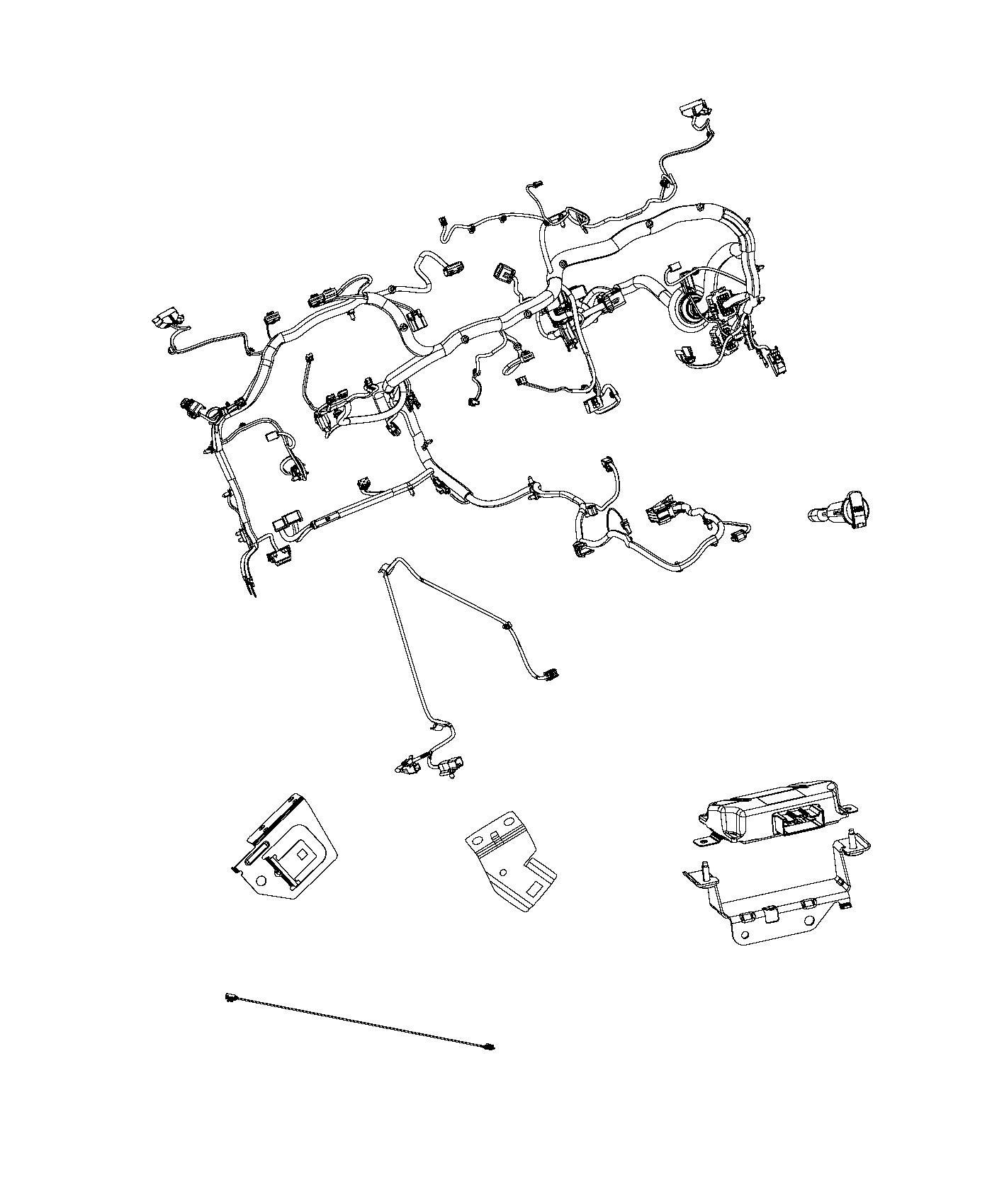 Dodge Ram Wiring Instrument Panel Speakers