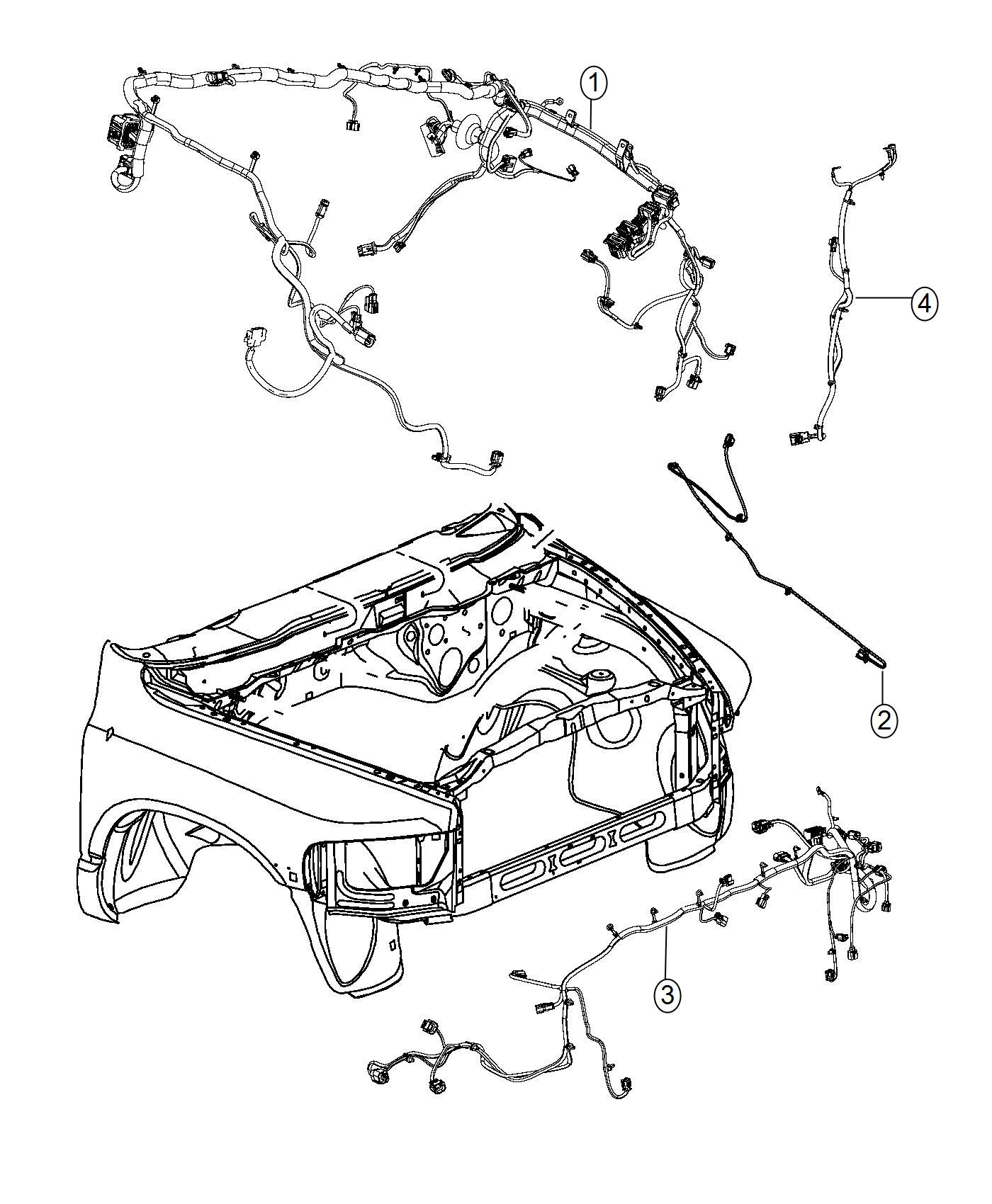 Dodge Ram Wiring Dash Shift Case Elec