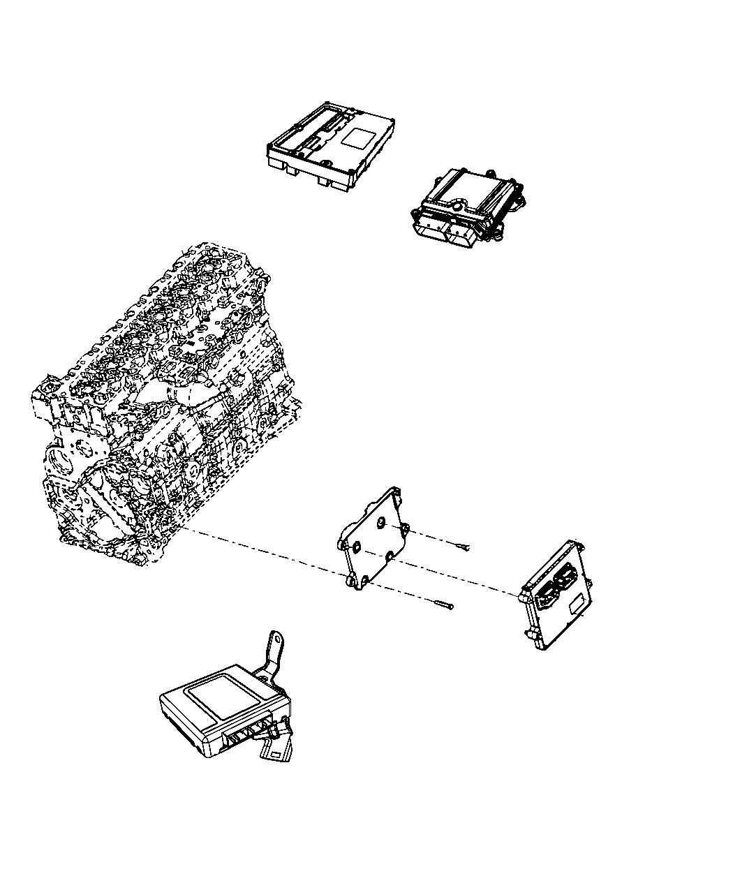 Ram Module Engine Controller Remanufactured