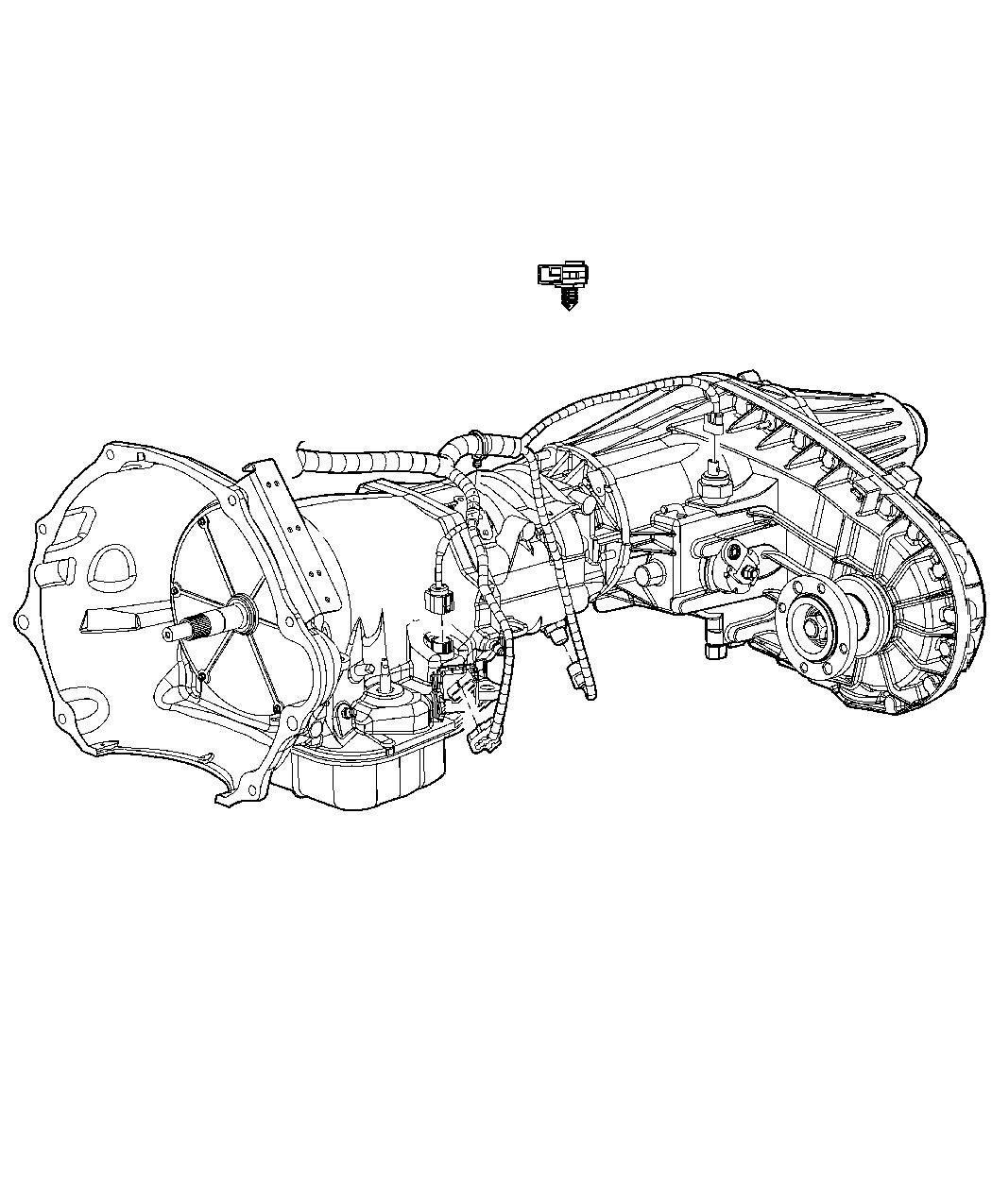 Dodge Ram Wiring Transmission Elec Shift On The Fly Transfer Case