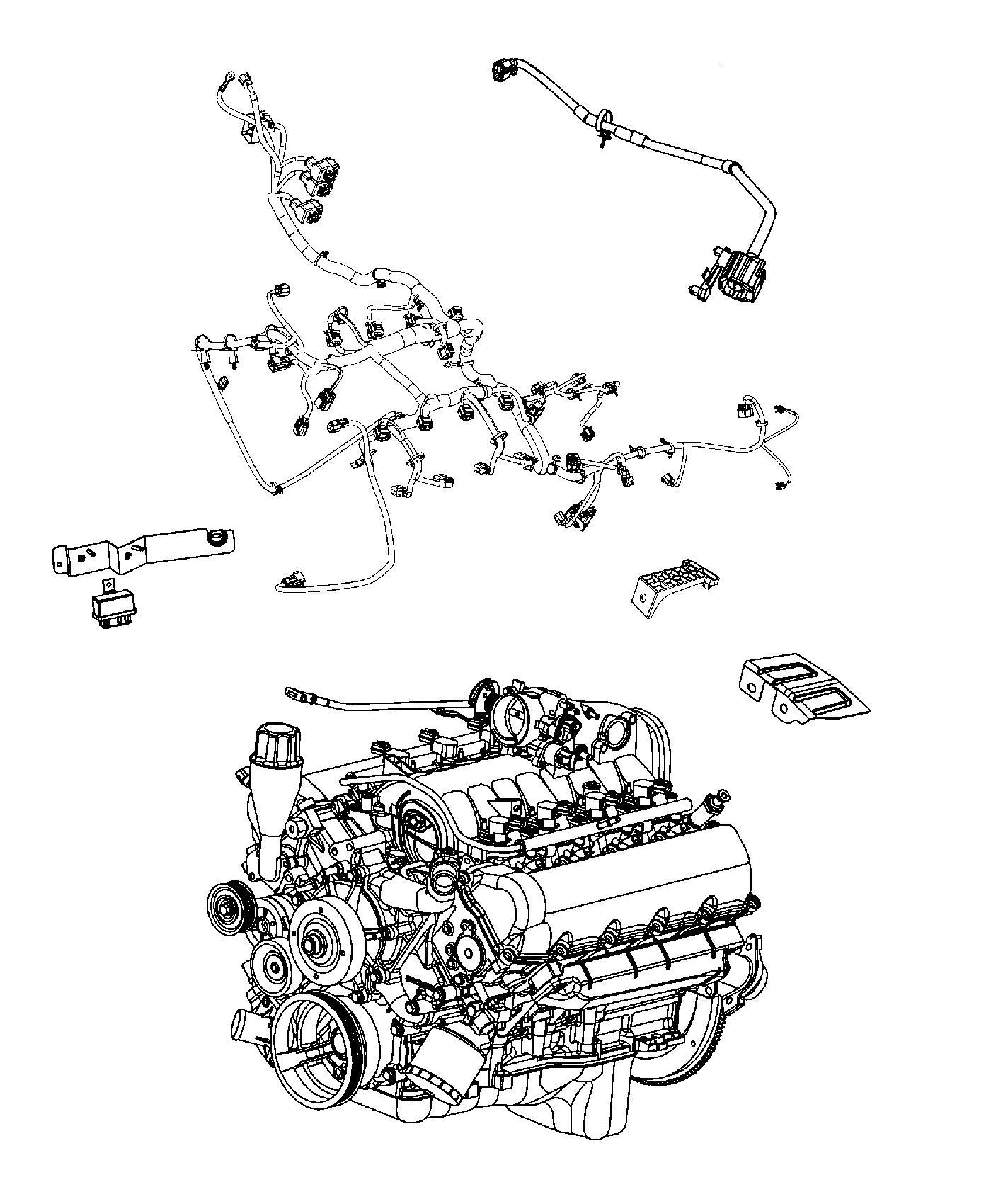 Ram Wiring Jumper Variable Timing Solenoid Engine