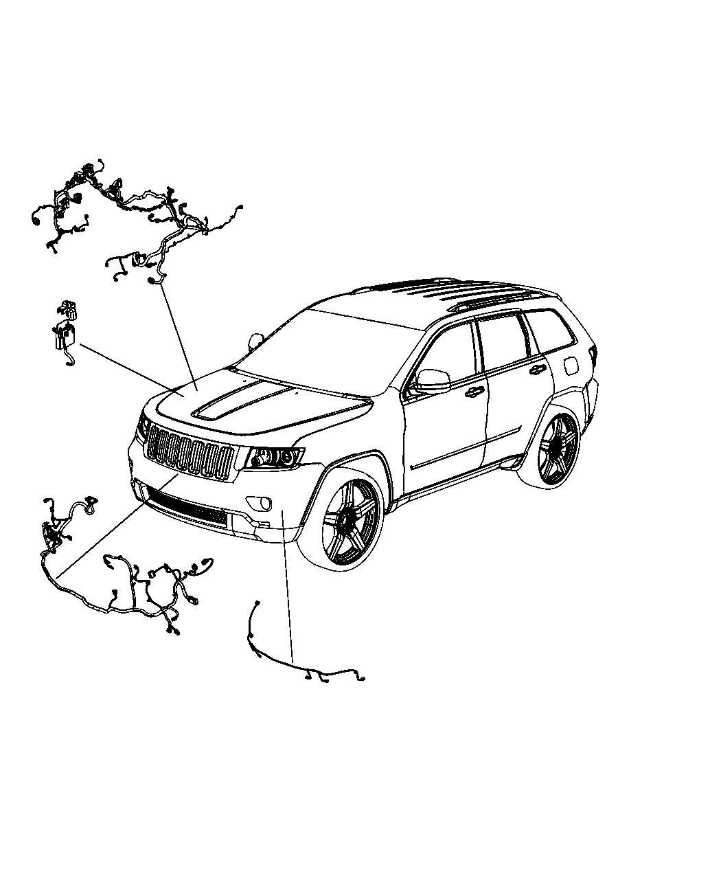 Jeep Grand Cherokee Wiring Headlamp To Dash Us