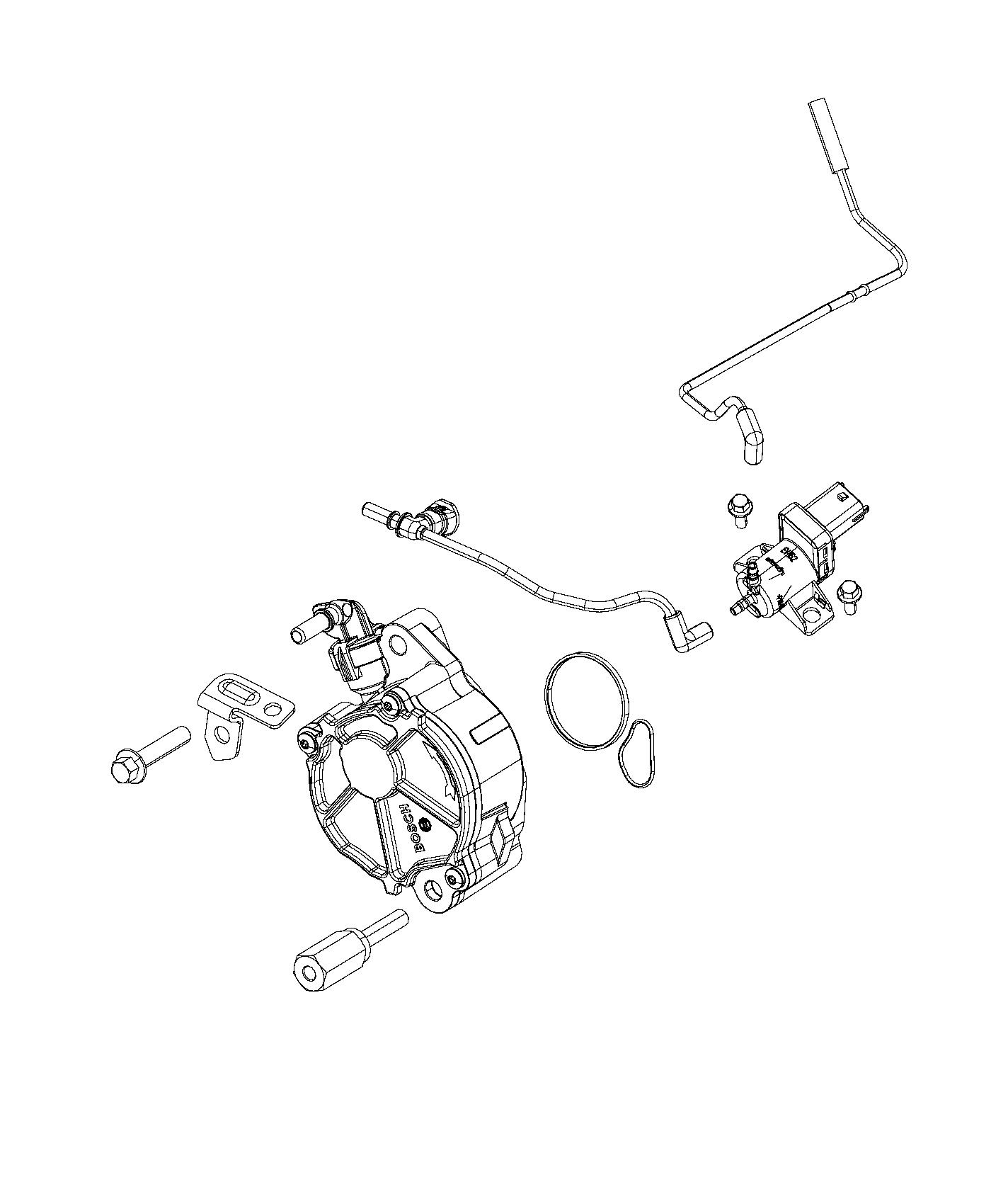 Jeep Grand Cherokee Pump Vacuum Emissions Export