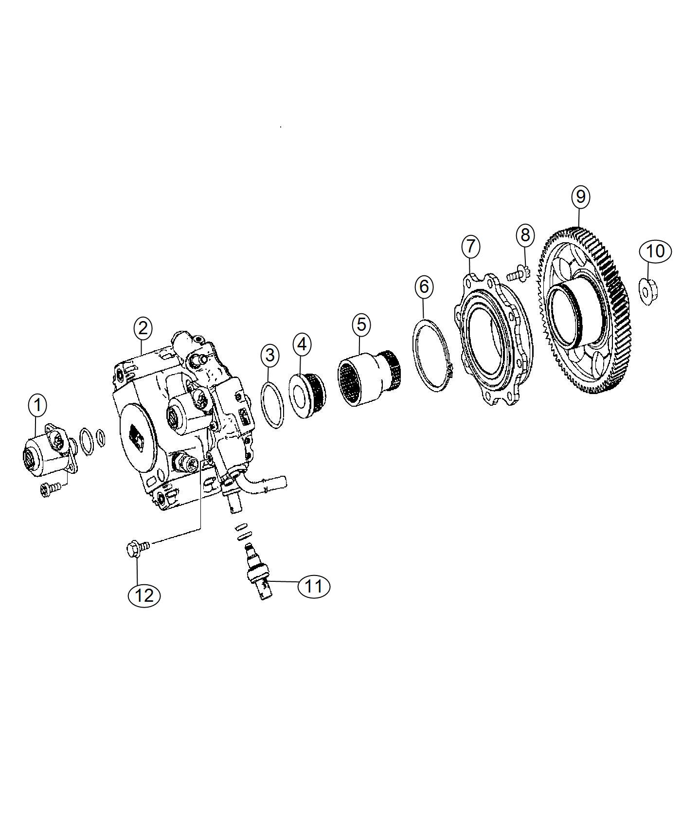 Dodge Sprinter O Ring Fuel Pump Injection