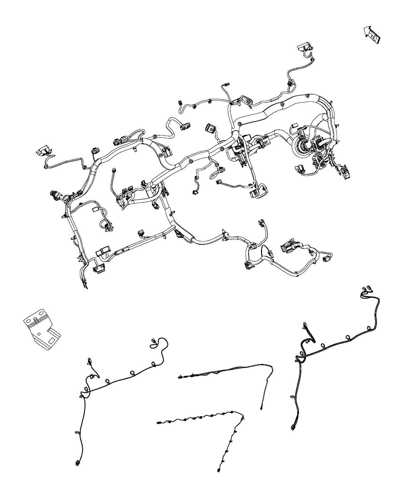 Dodge Ram Wiring Instrument Panel Camerablacku