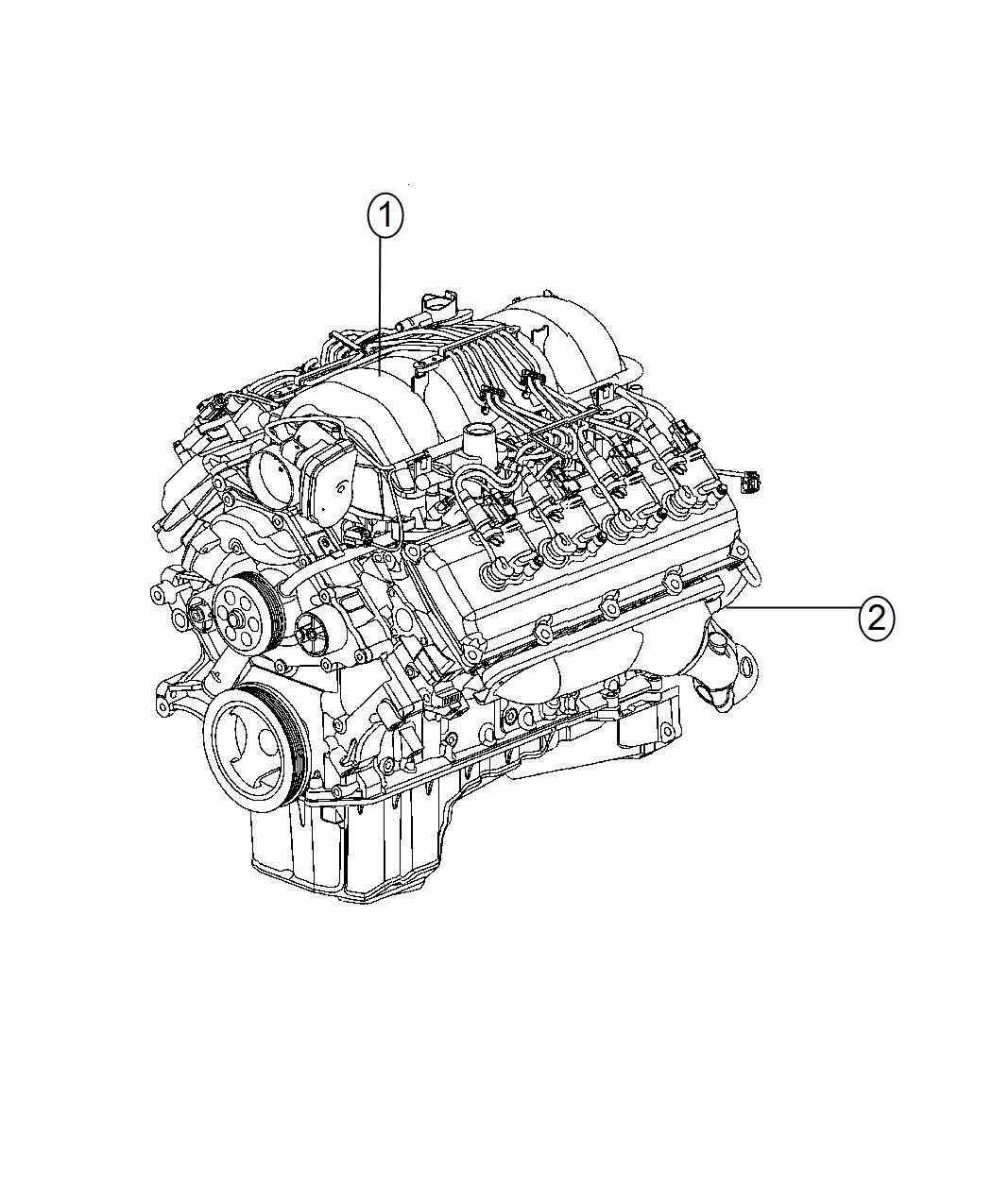 Dodge Ram Engine Long Block Remanufactured Failure