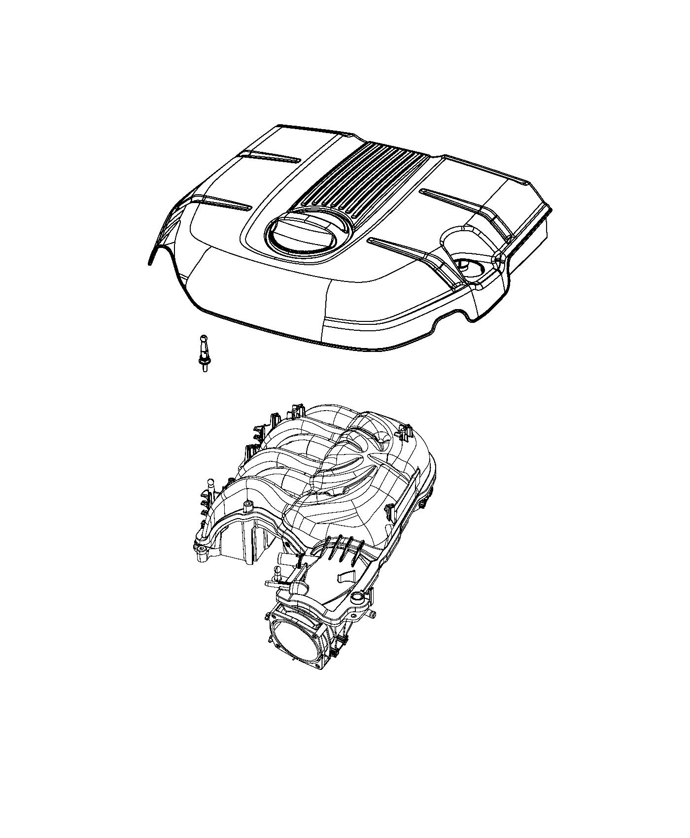 Jeep Grand Cherokee Cover Engine Includes Engine