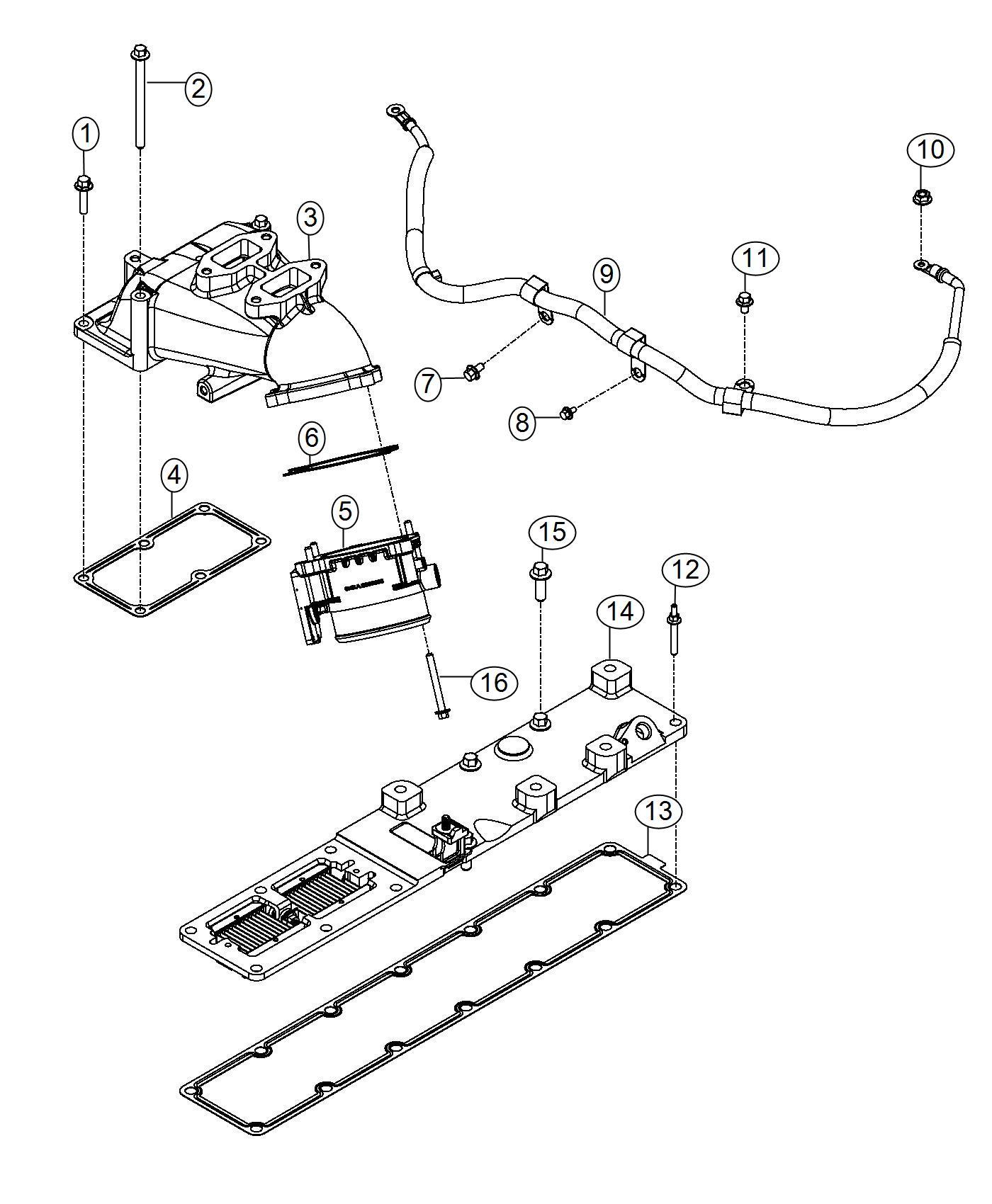 Dodge Ram Wiring Air Intake Heater Engine