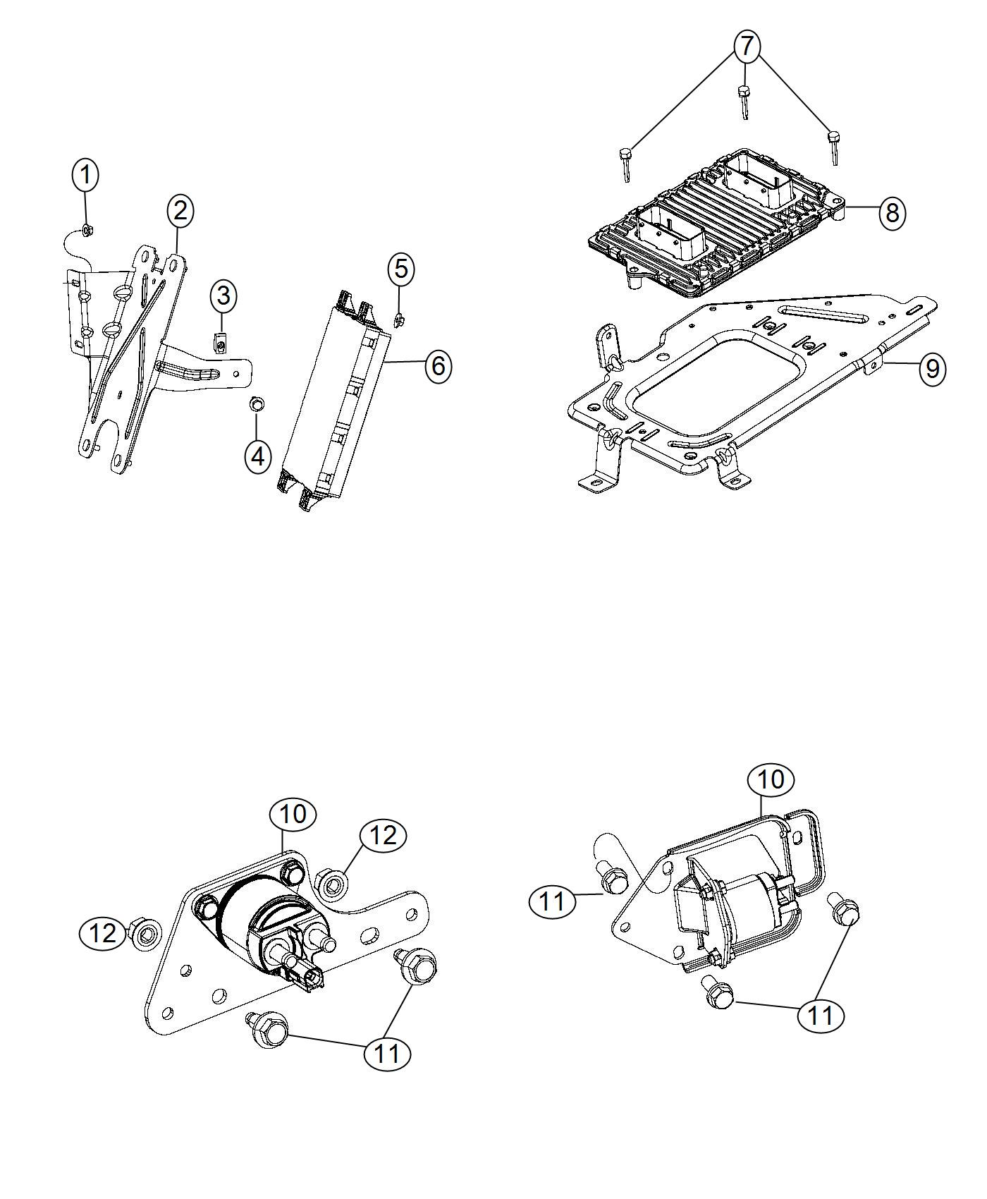 Ram Module Powertrain Control Generic