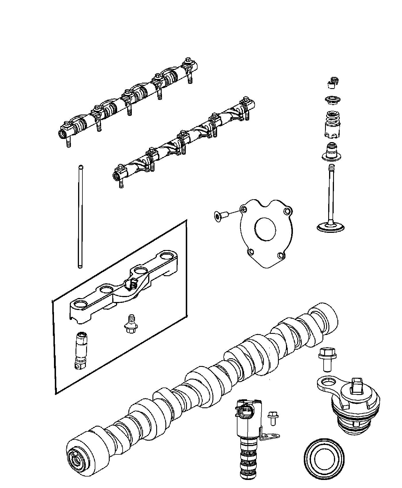 Dodge Challenger Valve Intake Standard Left Cylinder
