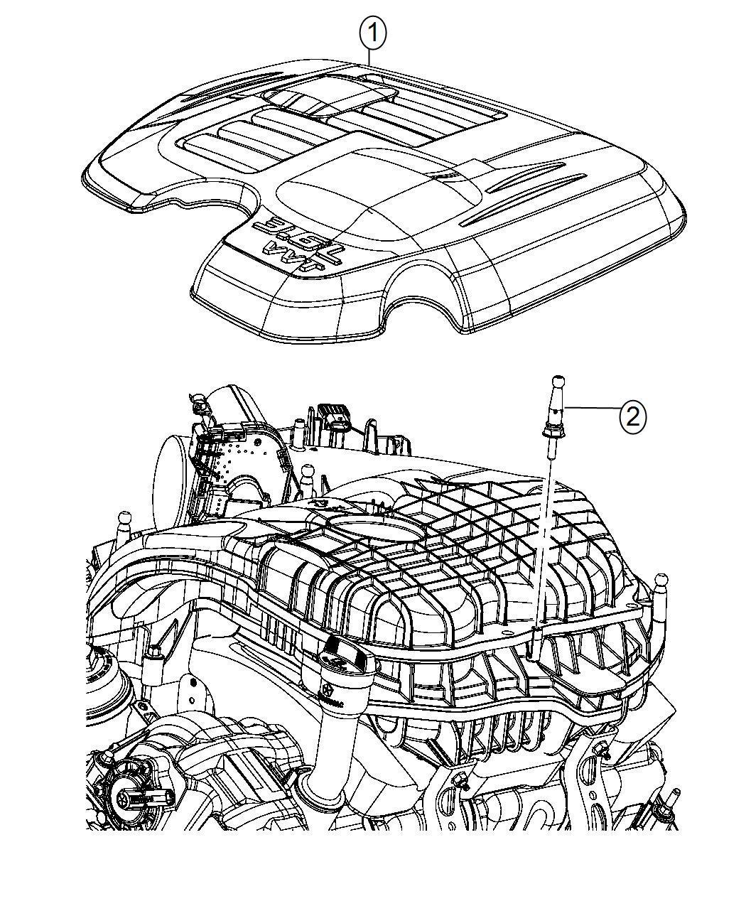 Dodge Challenger Cover Engine After 03 03 14
