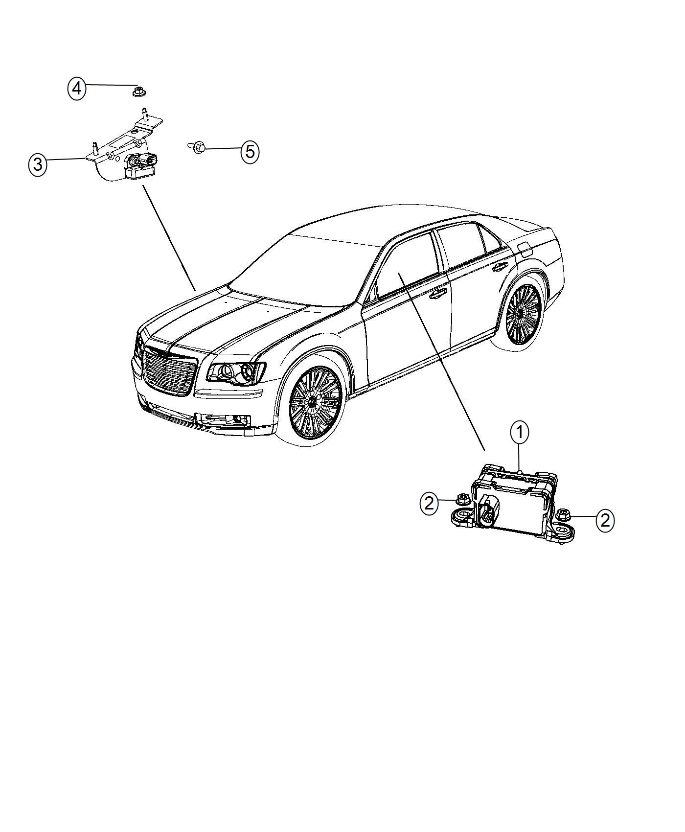Chrysler 300 Sensor Active Damping