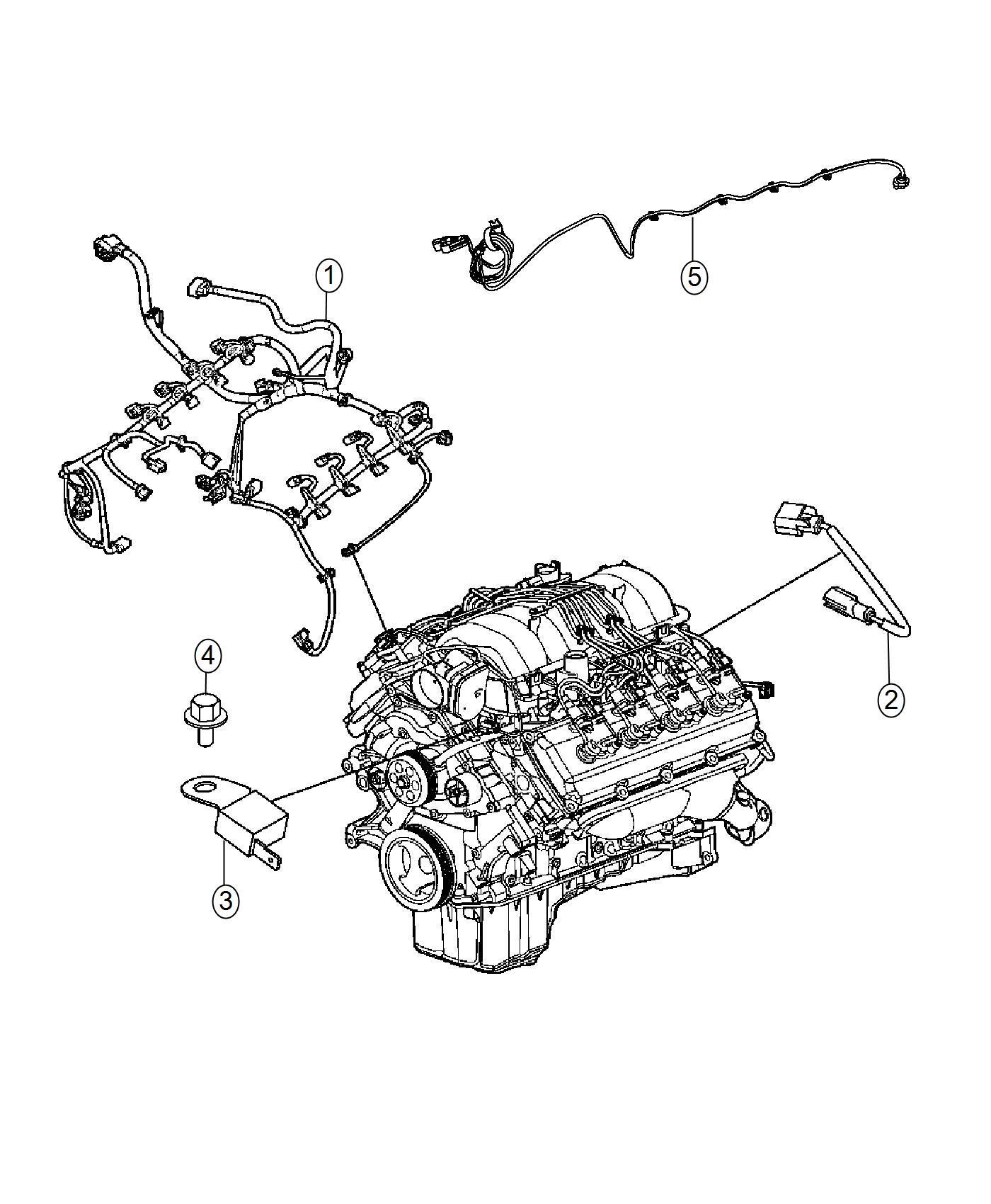 Chrysler 300 Wiring Engine 160 Amp Alternator Or 180