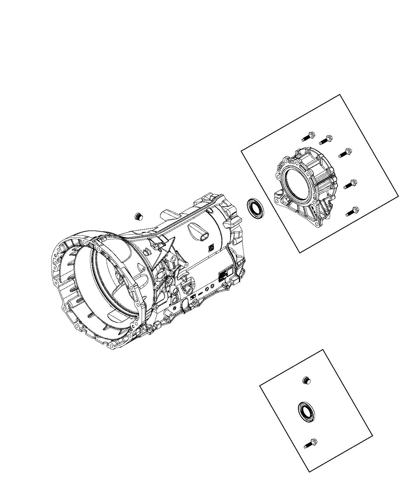 Dodge Ram Adapter Transfer Case Rear Ratio Axle