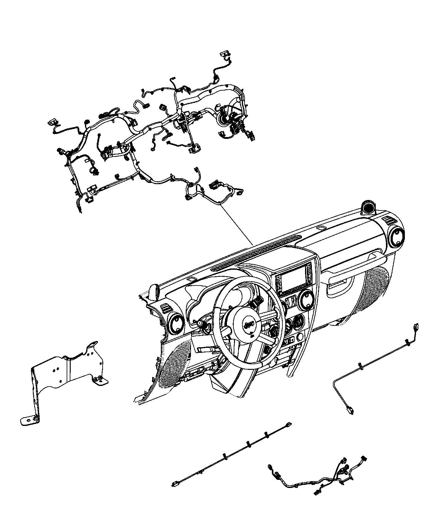 Jeep Wrangler Wiring Console Trim All Trim Codes