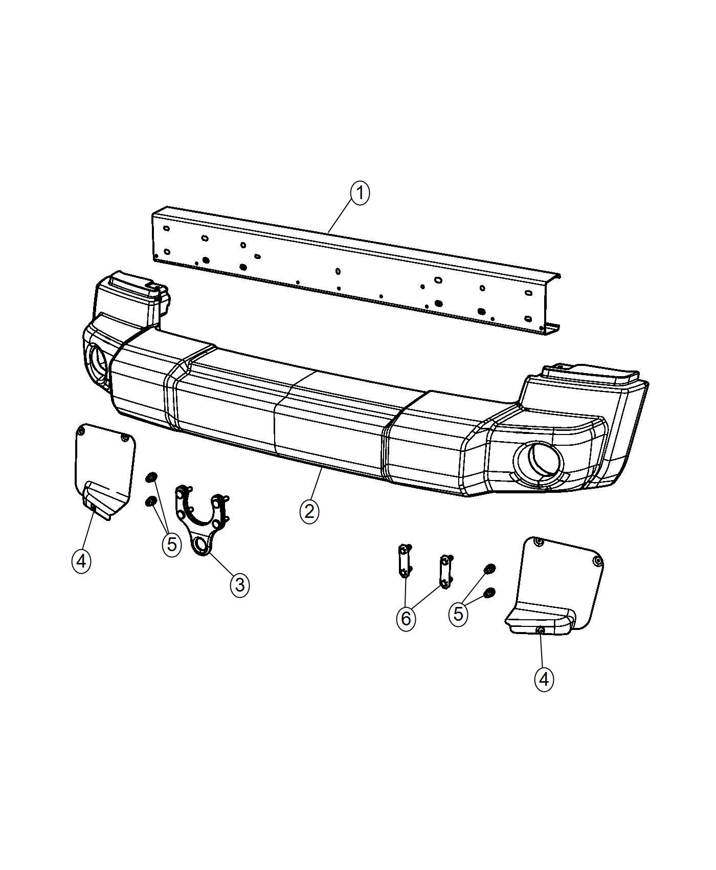 Jeep Wrangler Shield Splash Right Export Front