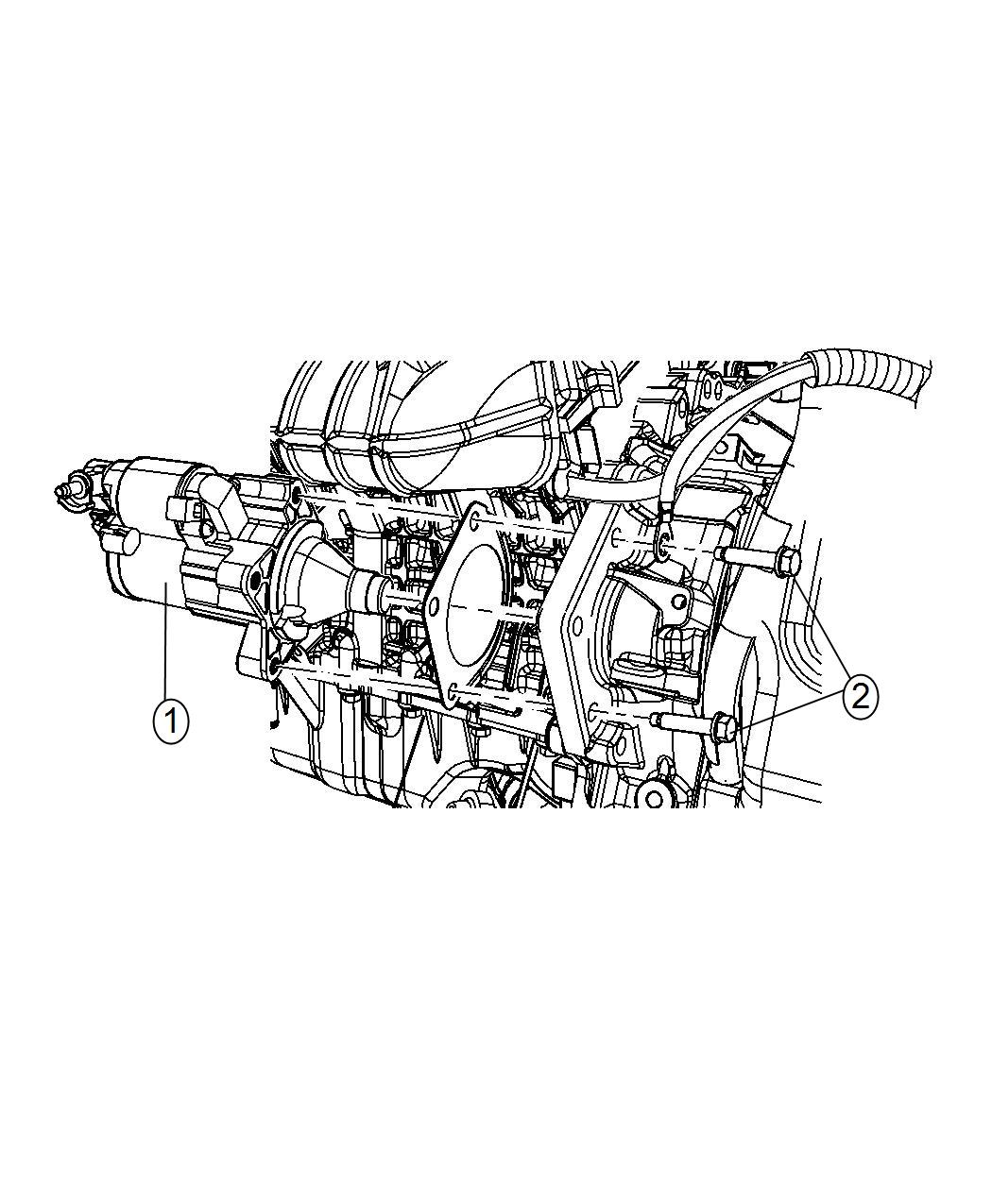Dodge Ram Starter Engine Remanufactured Power