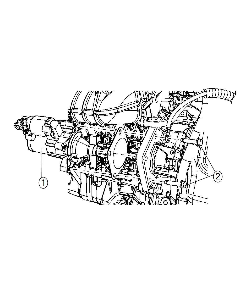 Dodge Ram Starter Engine Remanufactured Power Train