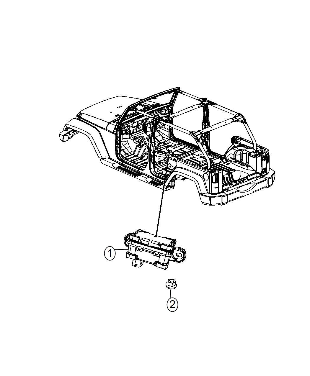 Jeep Wrangler Sensor Dynamics Used For Lateral