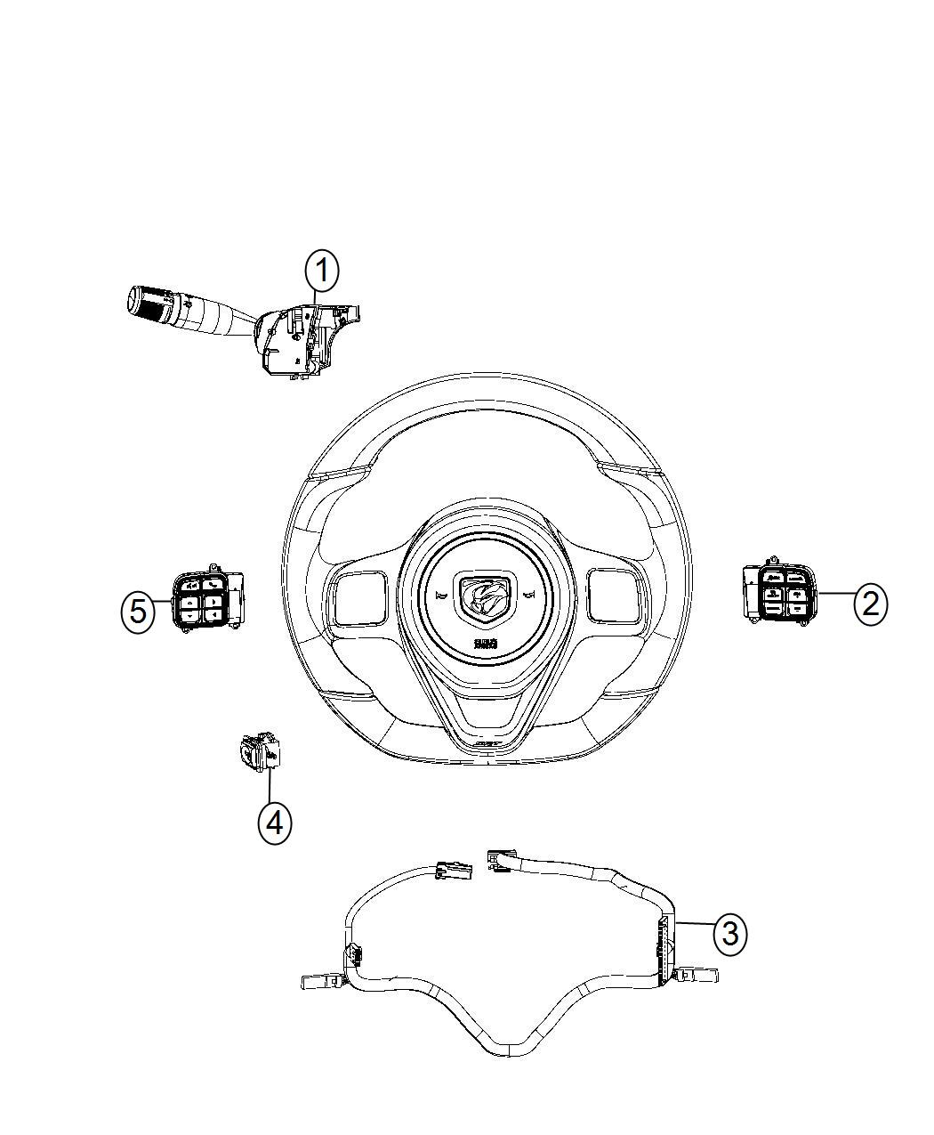 Dodge Viper Switch Multifunction