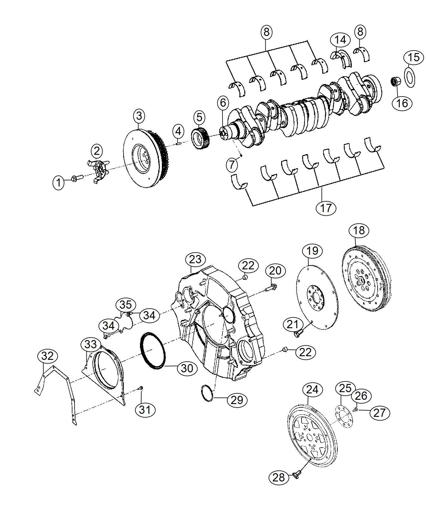 Ram Flexplate Kit Friction Enhancing