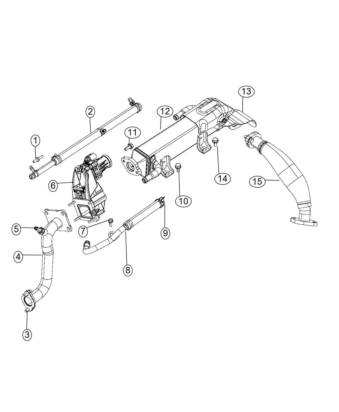 Ram Screw Hex Head M8x1 25x21 Cooling