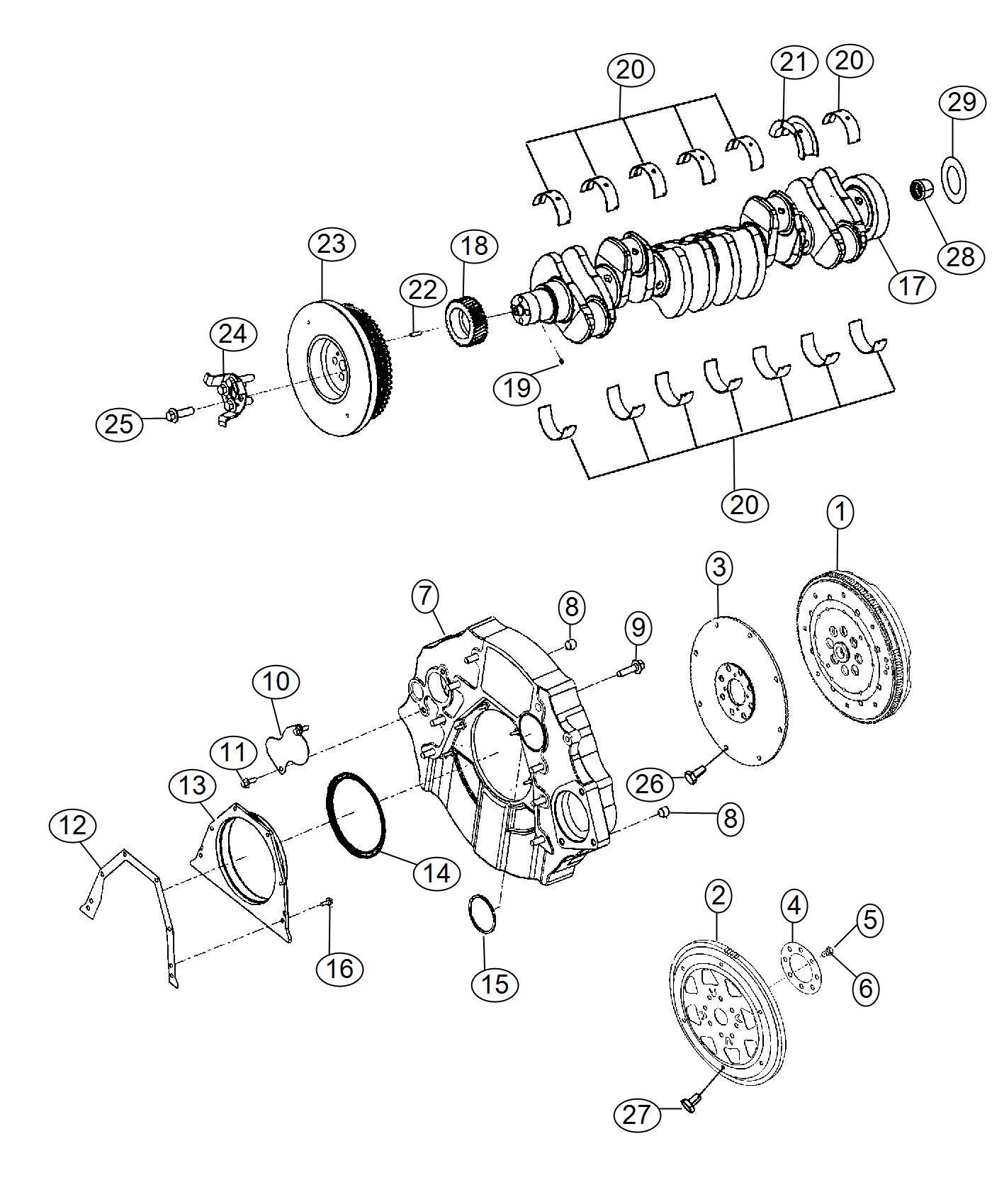 Ram Flywheel Engine Dual Mass Manual