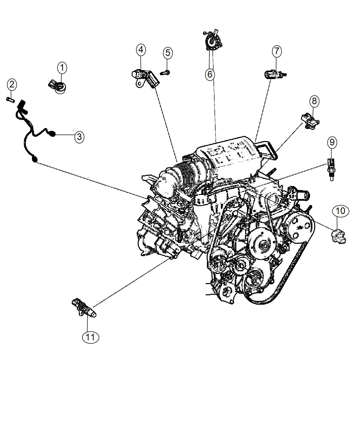 Dodge Journey Screw Pan Head M8x1 25x22 00 Export