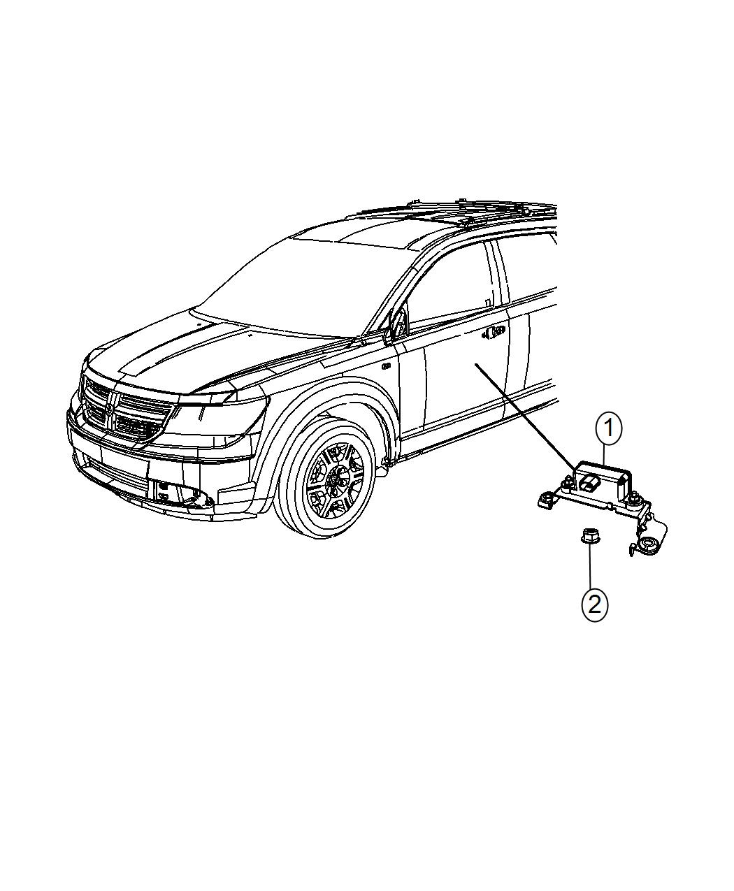 Dodge Journey Sensor Dynamics Used For Lateral