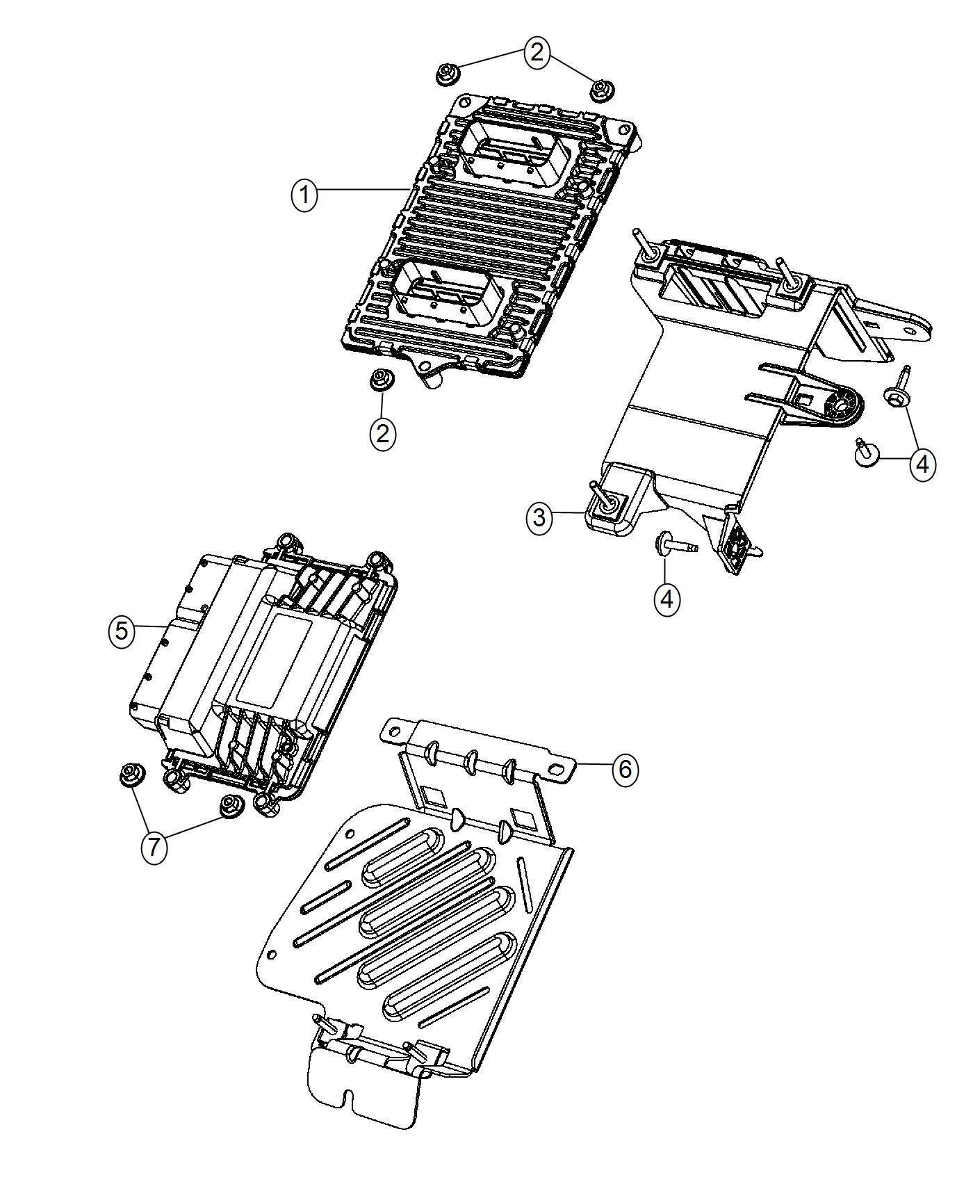 Dodge Dart Module Transmission Control Dmd