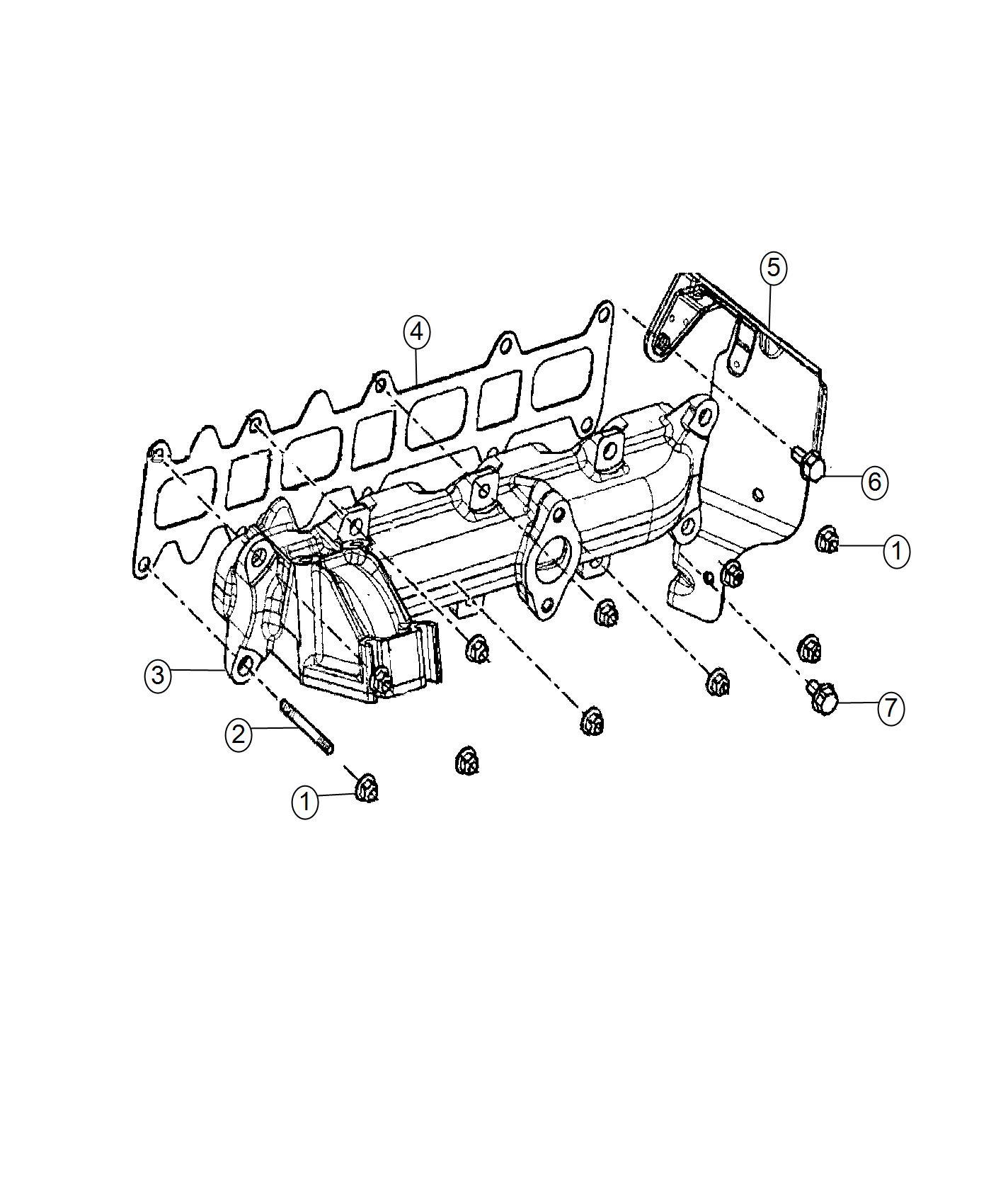 Ram Promaster Nut Heater Engine Block