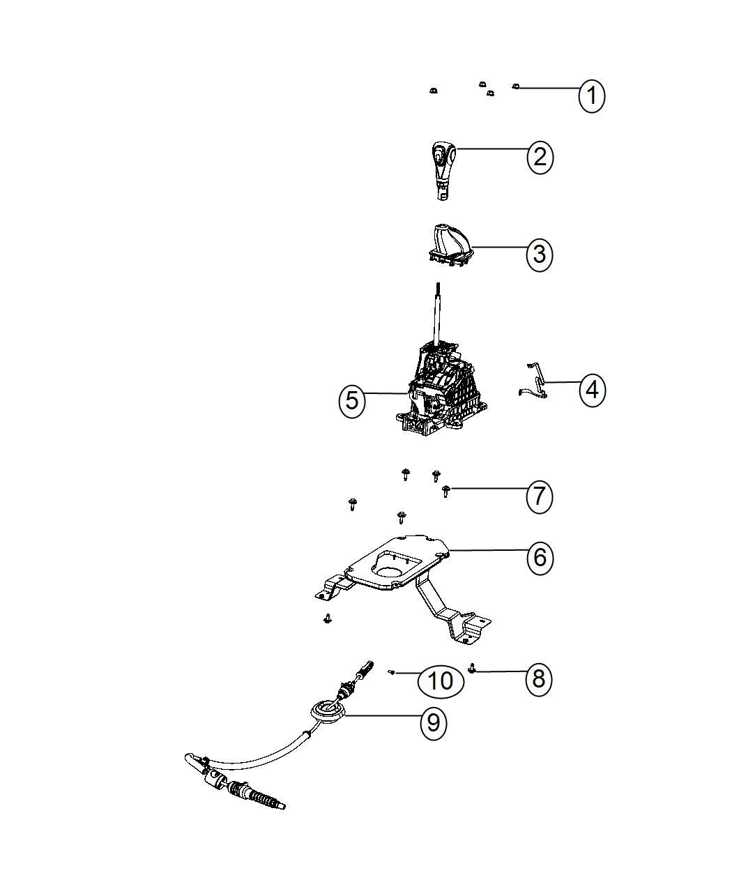 Dodge Dart Plate Transmission Shifter Gear