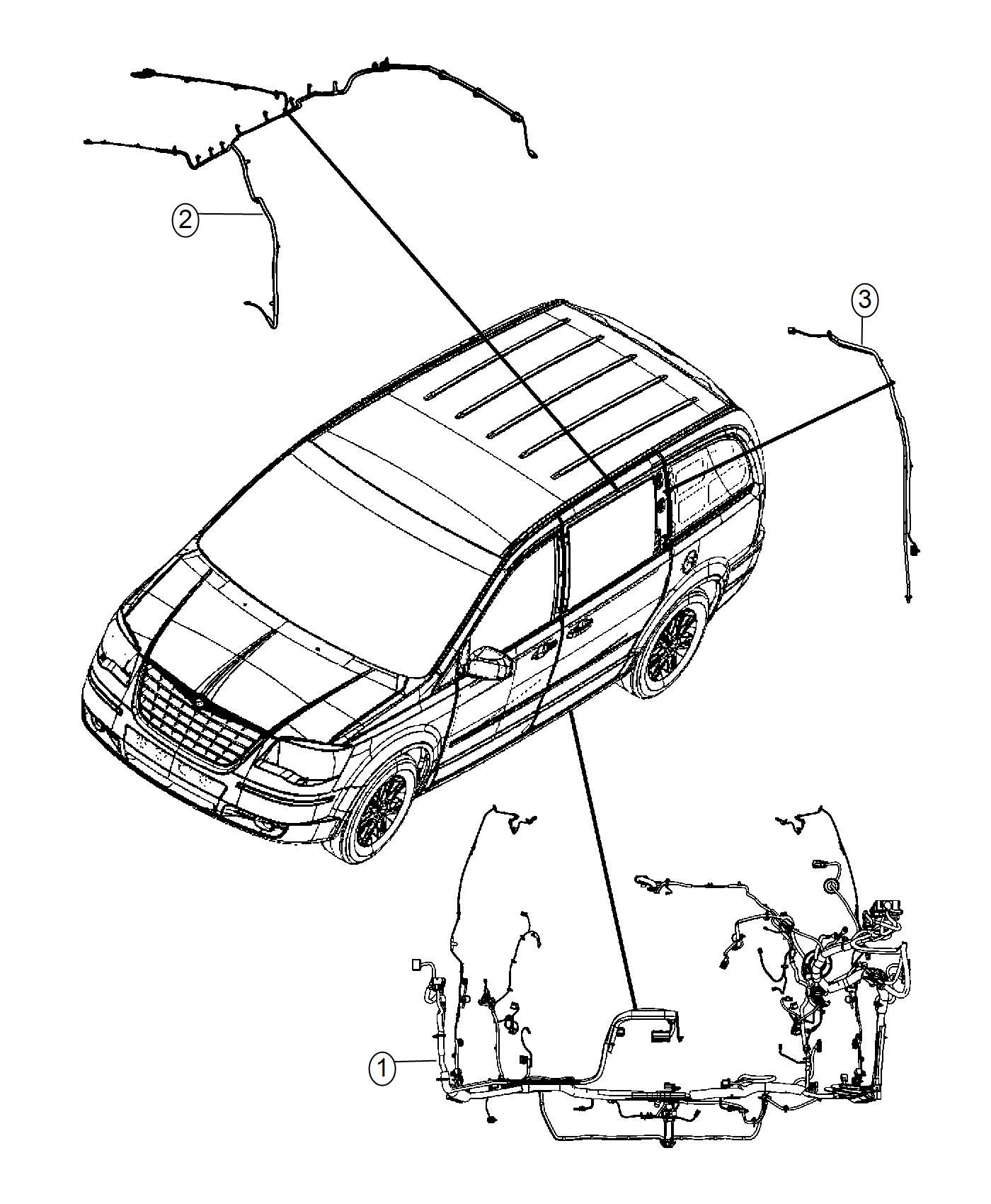 Dodge Grand Caravan Wiring Jumper Instrument Panel Rbz