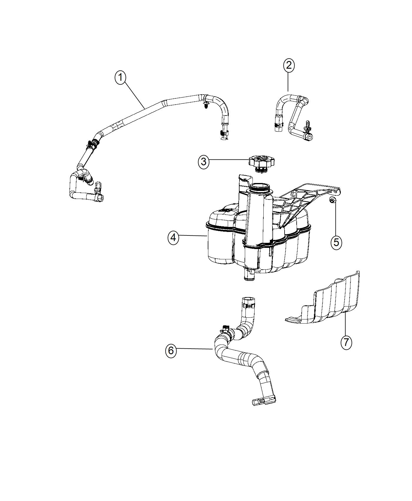 Ram Bottle Coolant Recovery Maintenance