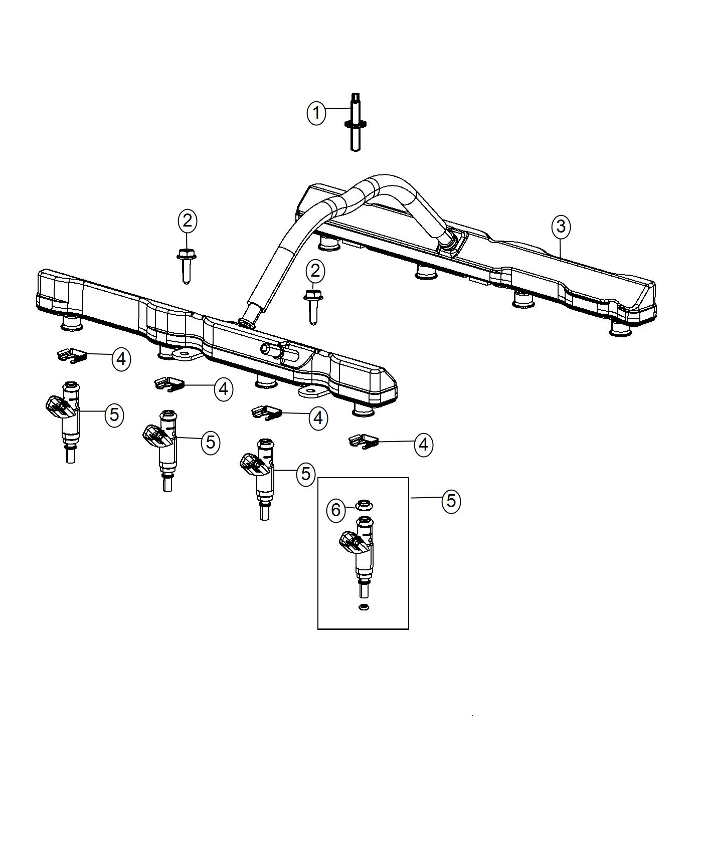 Ram Injector Fuel Engine Manifold Intake