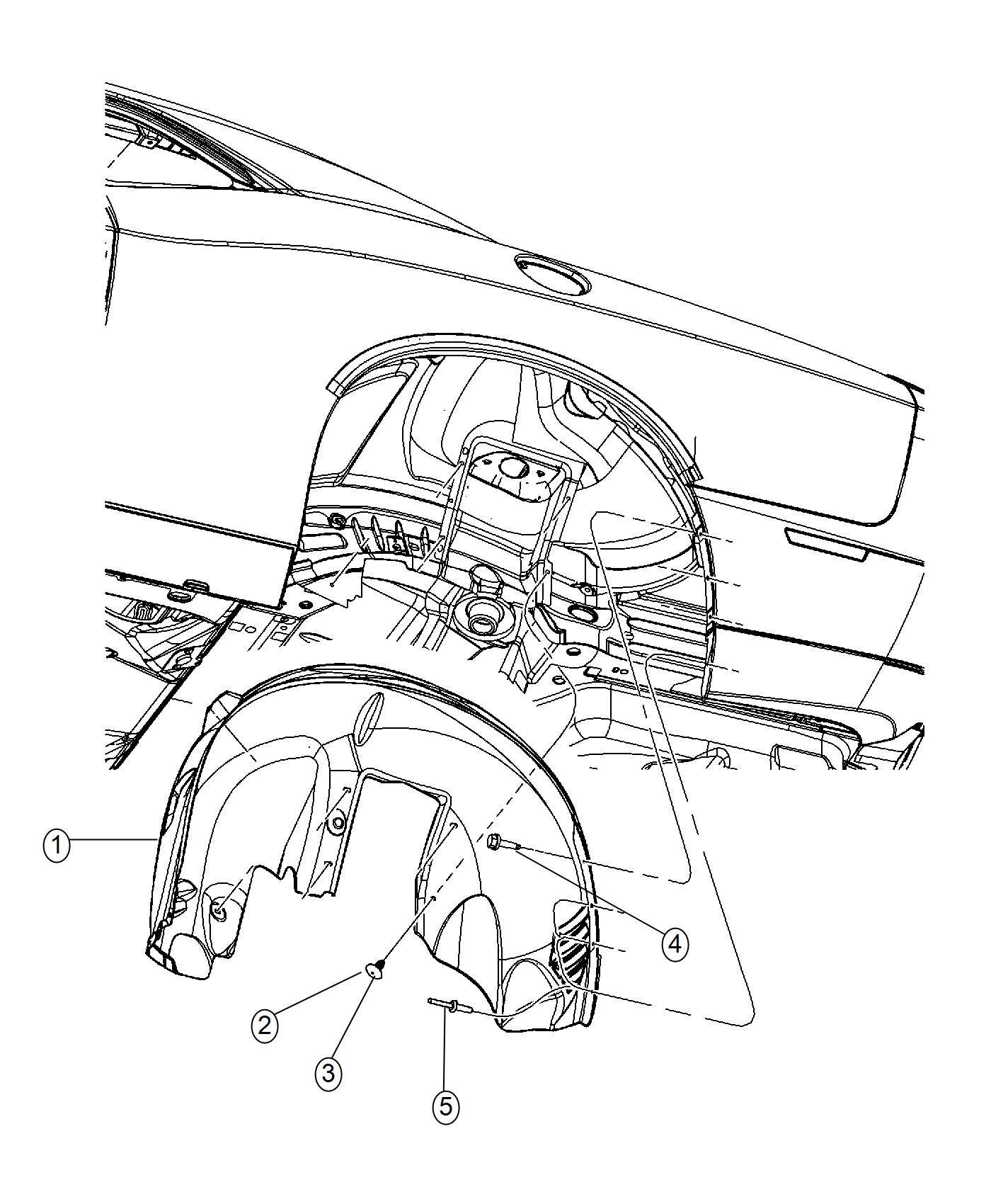 Dodge Challenger Parts Diagram