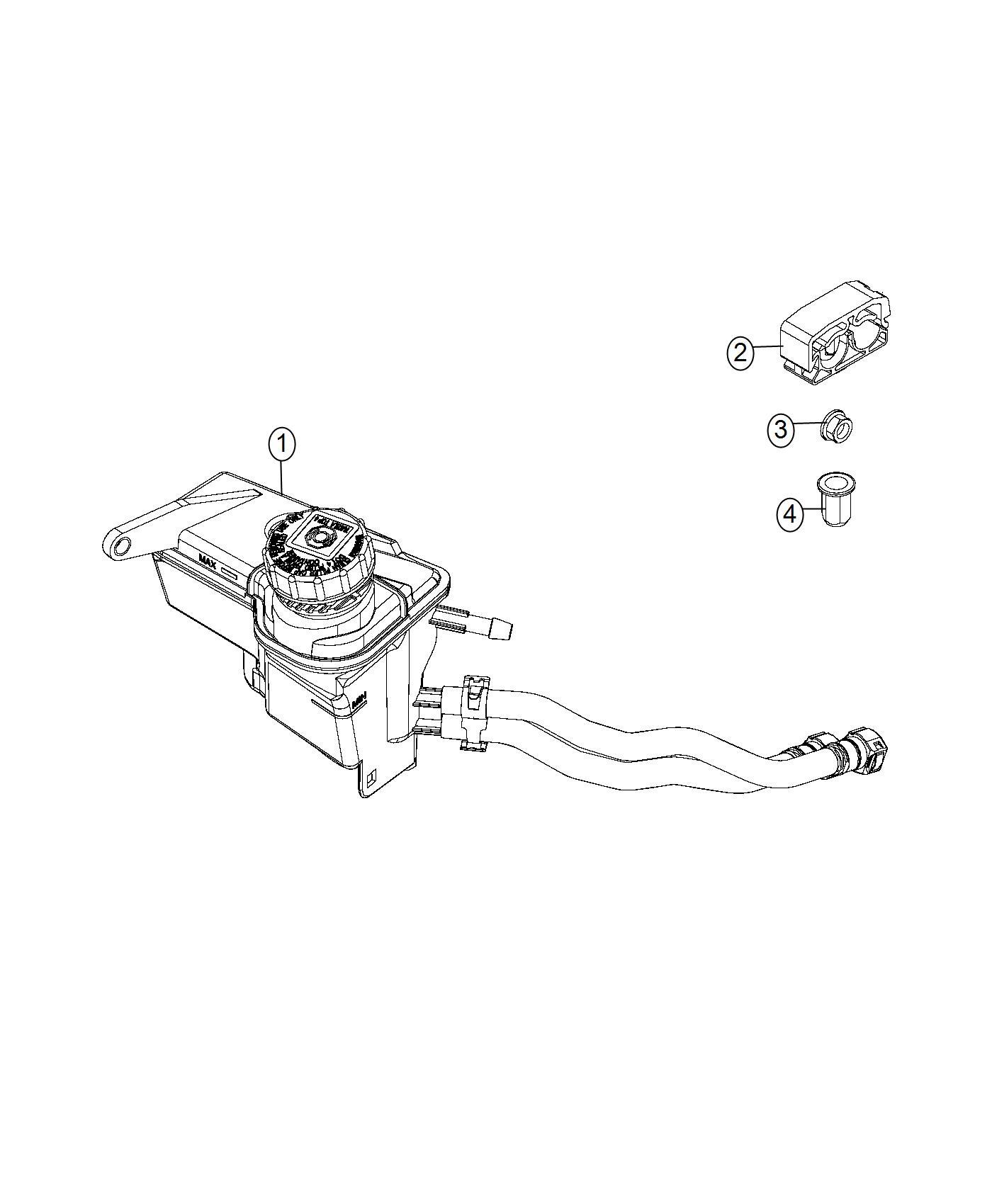 Ram Promaster City Wagon Clip Power Steering Hose