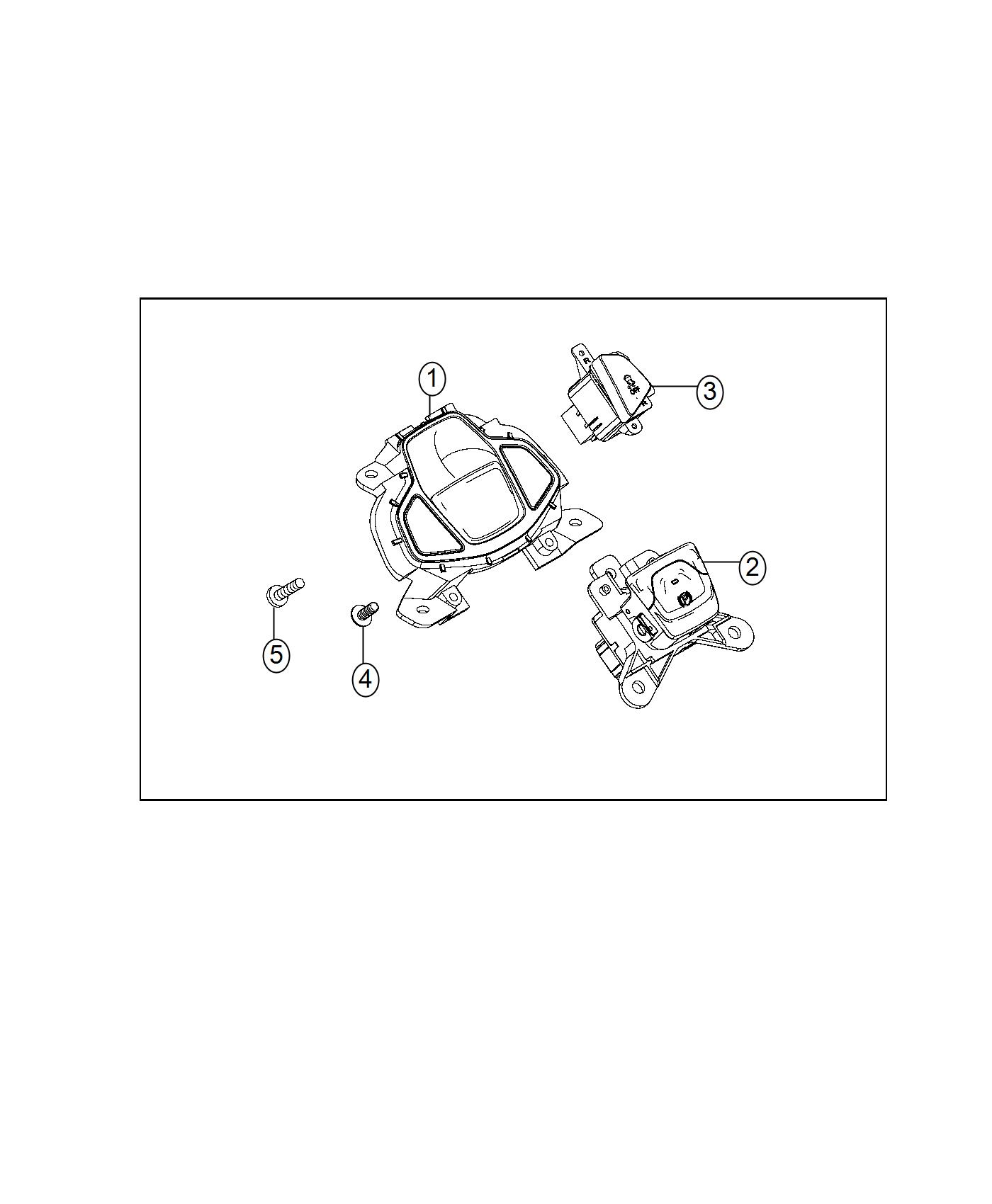 Jeep Renegade Switch Console Export Stop Start