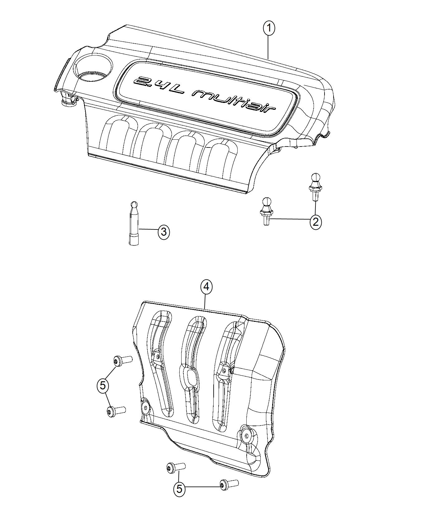 Ram Promaster City Wagon Slt Cover Engine
